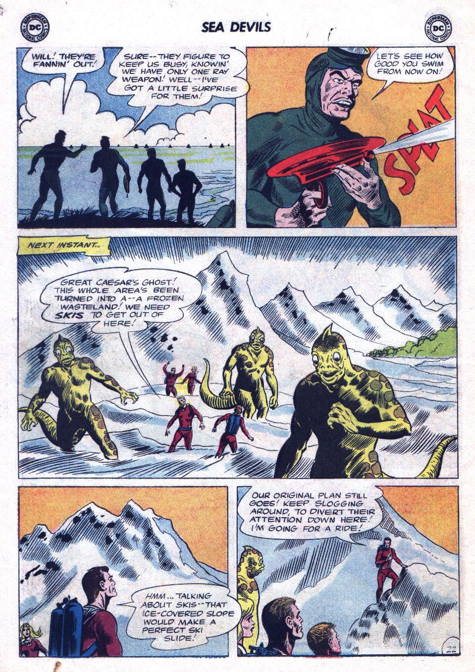 Read online Sea Devils comic -  Issue #20 - 30