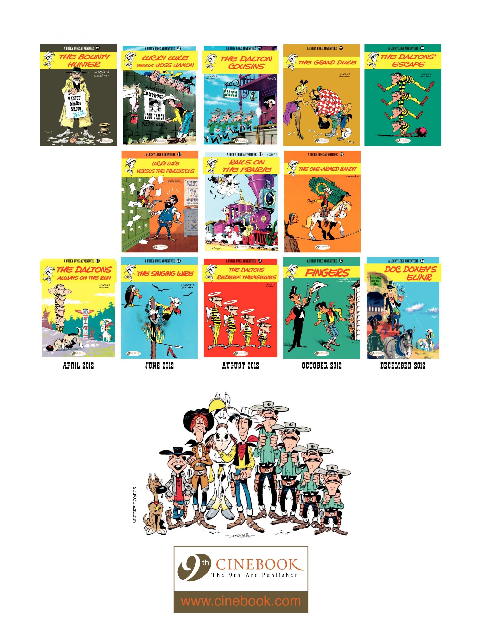 Read online A Lucky Luke Adventure comic -  Issue #33 - 48