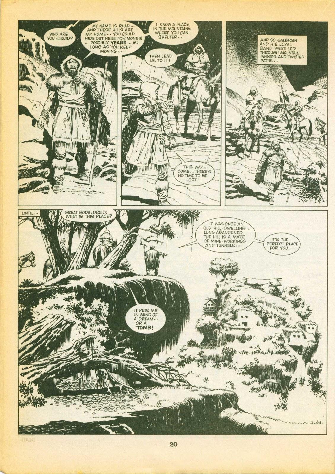 Warrior Issue #1 #2 - English 20