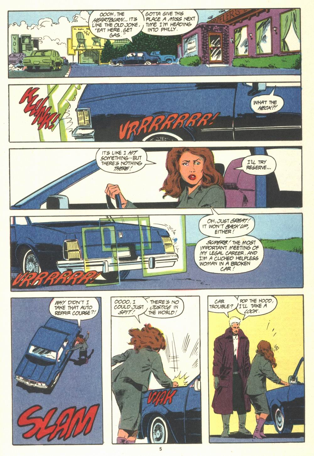 Read online Justice (1986) comic -  Issue #19 - 7