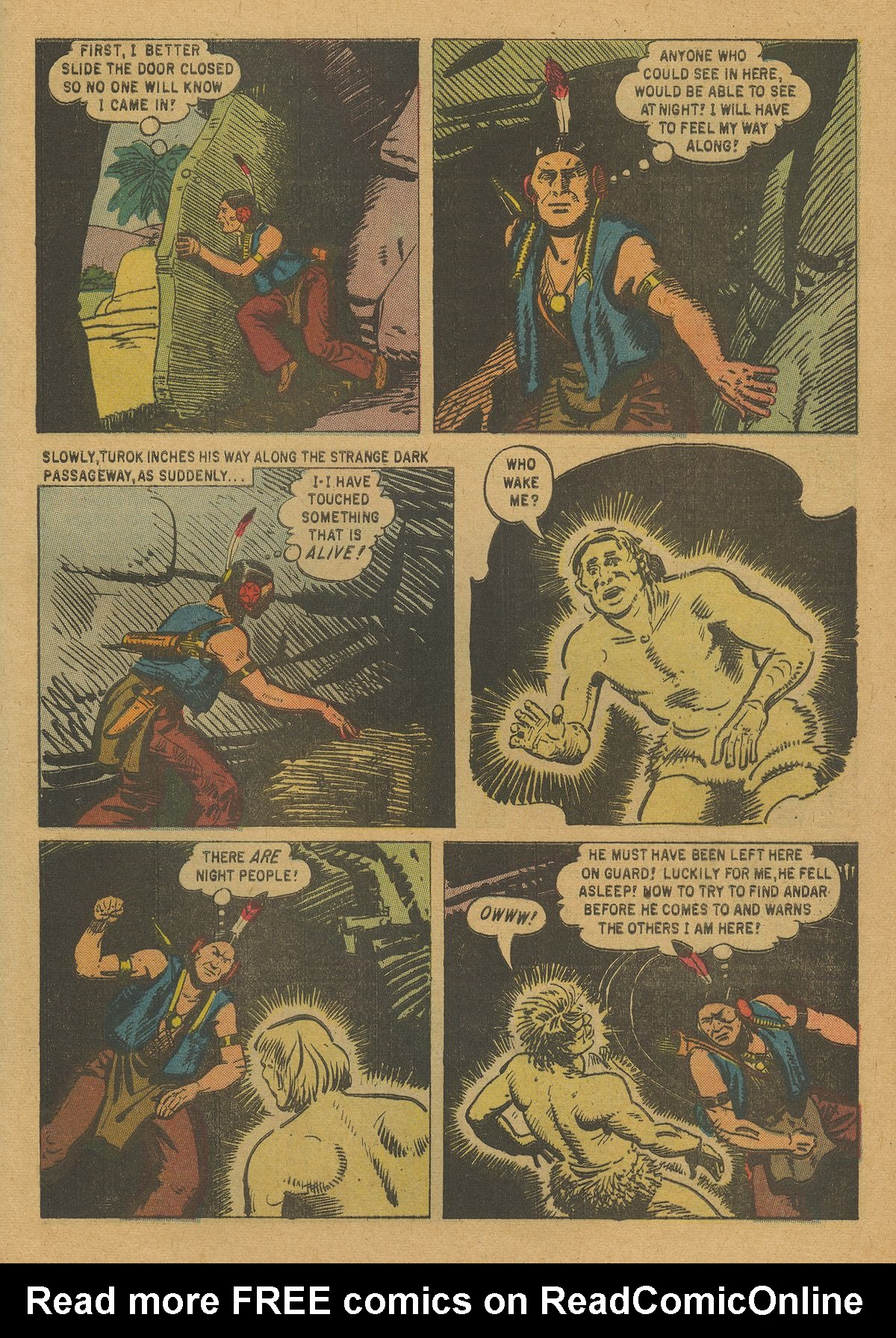 Read online Turok, Son of Stone comic -  Issue #20 - 29
