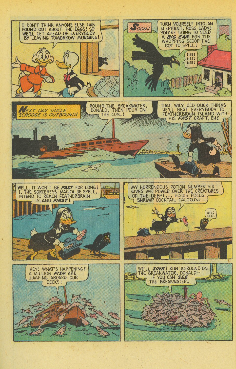 Read online Uncle Scrooge (1953) comic -  Issue #139 - 10