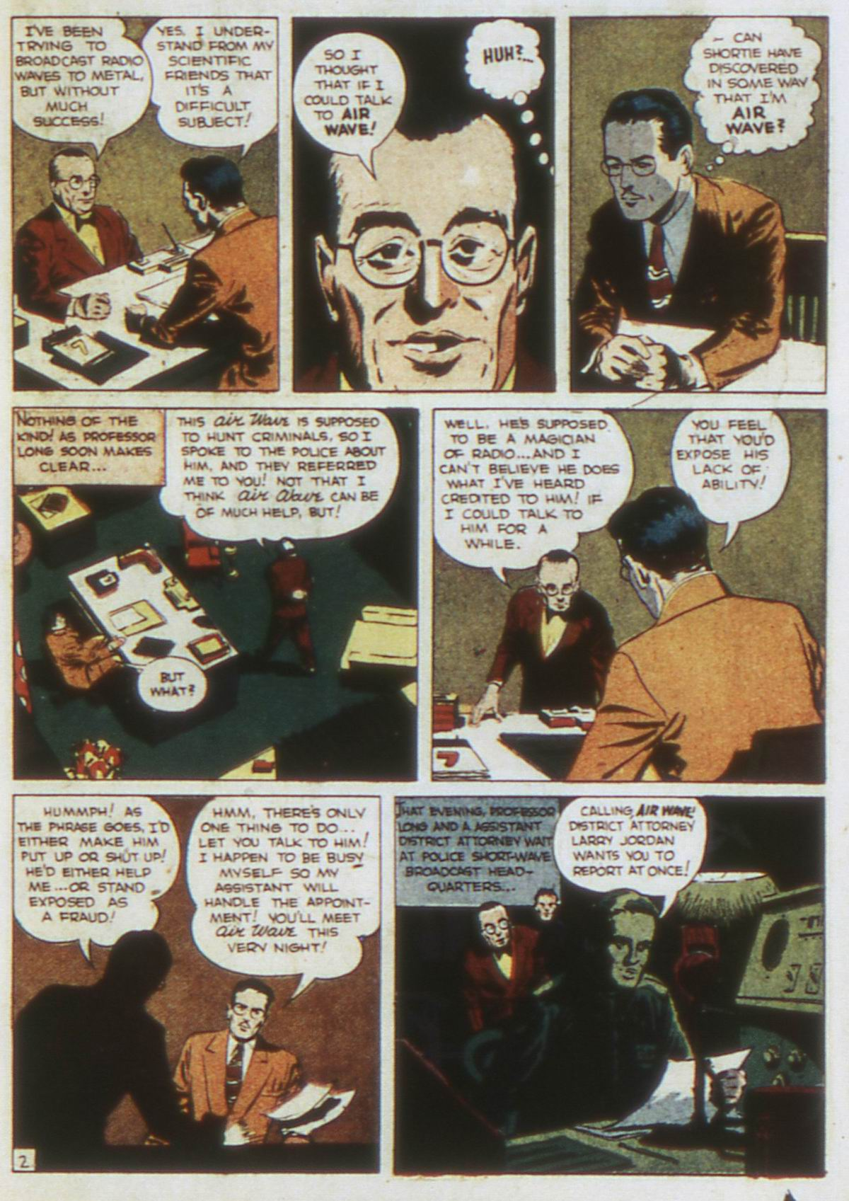 Read online Detective Comics (1937) comic -  Issue #87 - 19