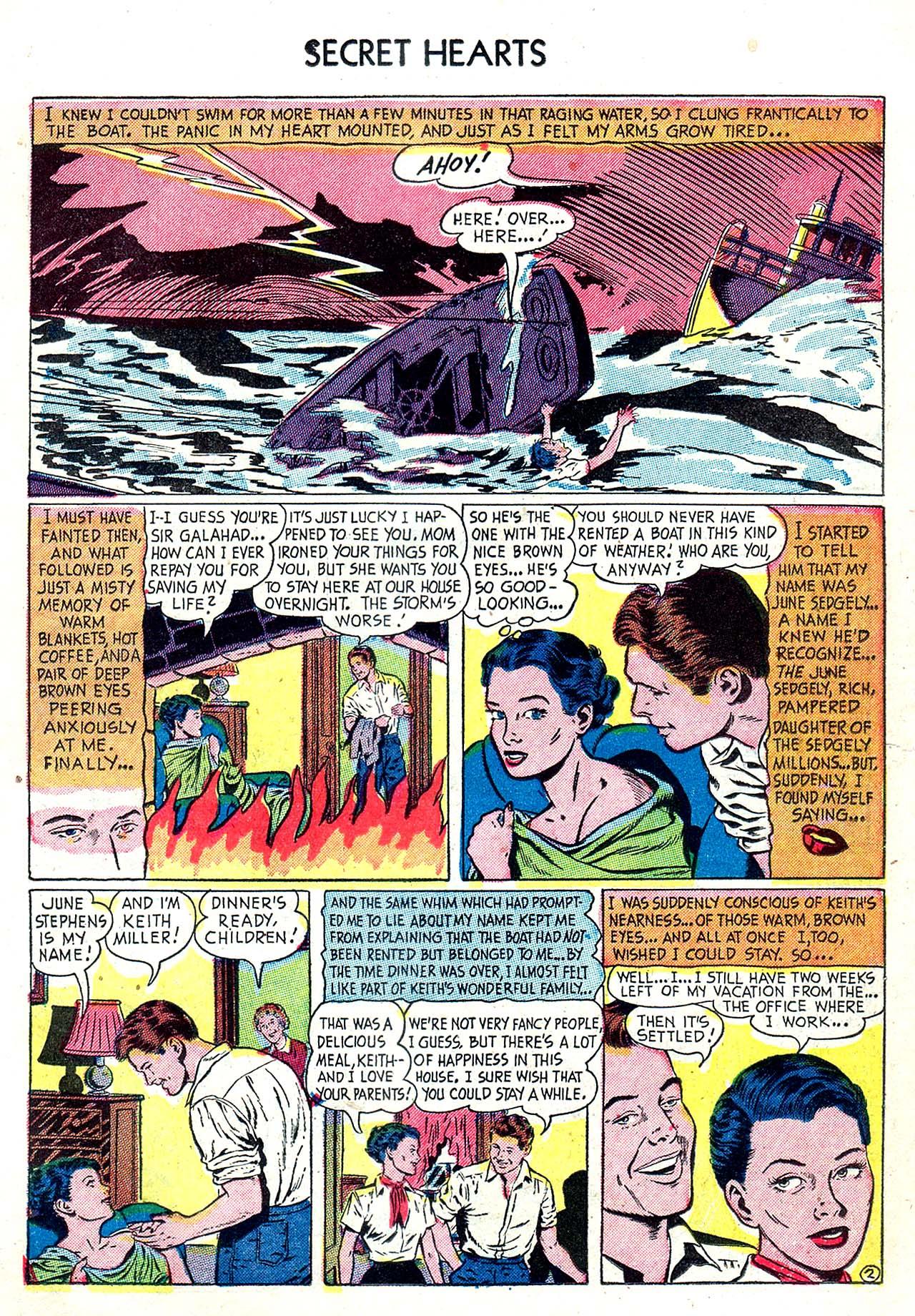 Read online Secret Hearts comic -  Issue #20 - 11