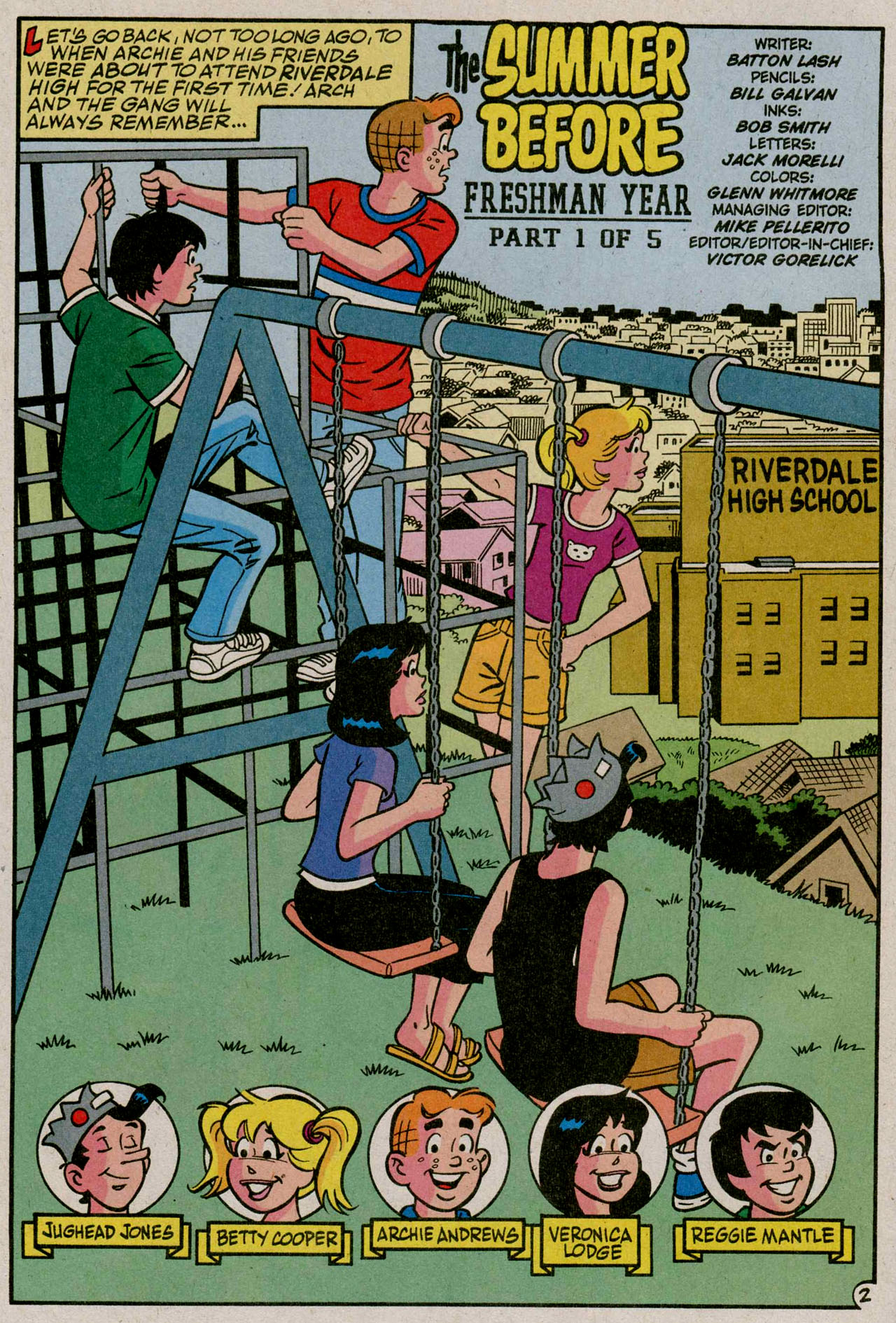 Read online Archie (1960) comic -  Issue #587 - 3