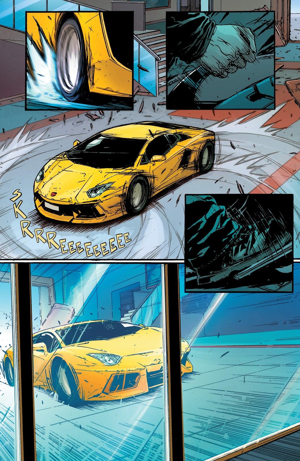 Read online Hardcore comic -  Issue #2 - 11
