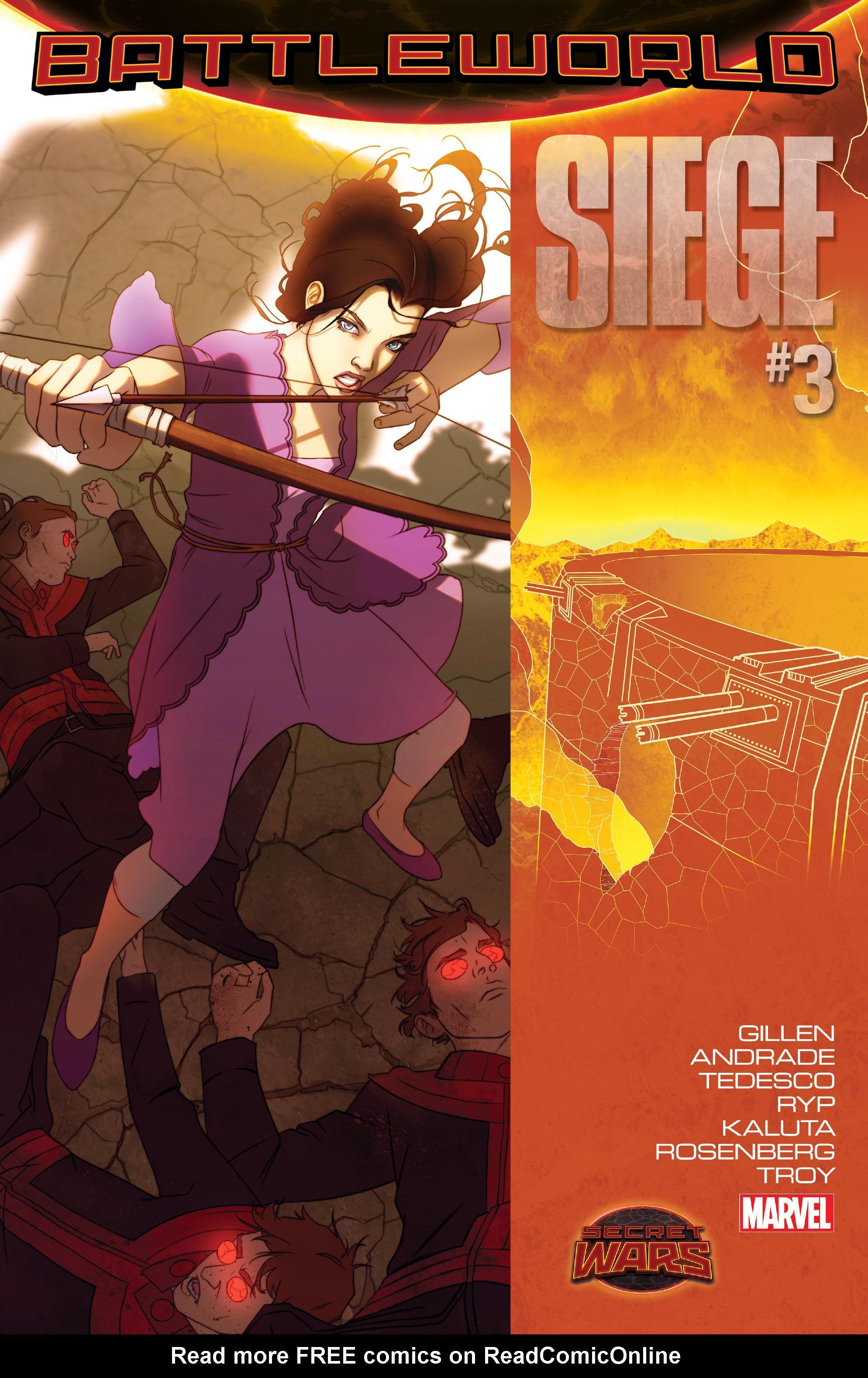 Read online Siege (2015) comic -  Issue #3 - 1