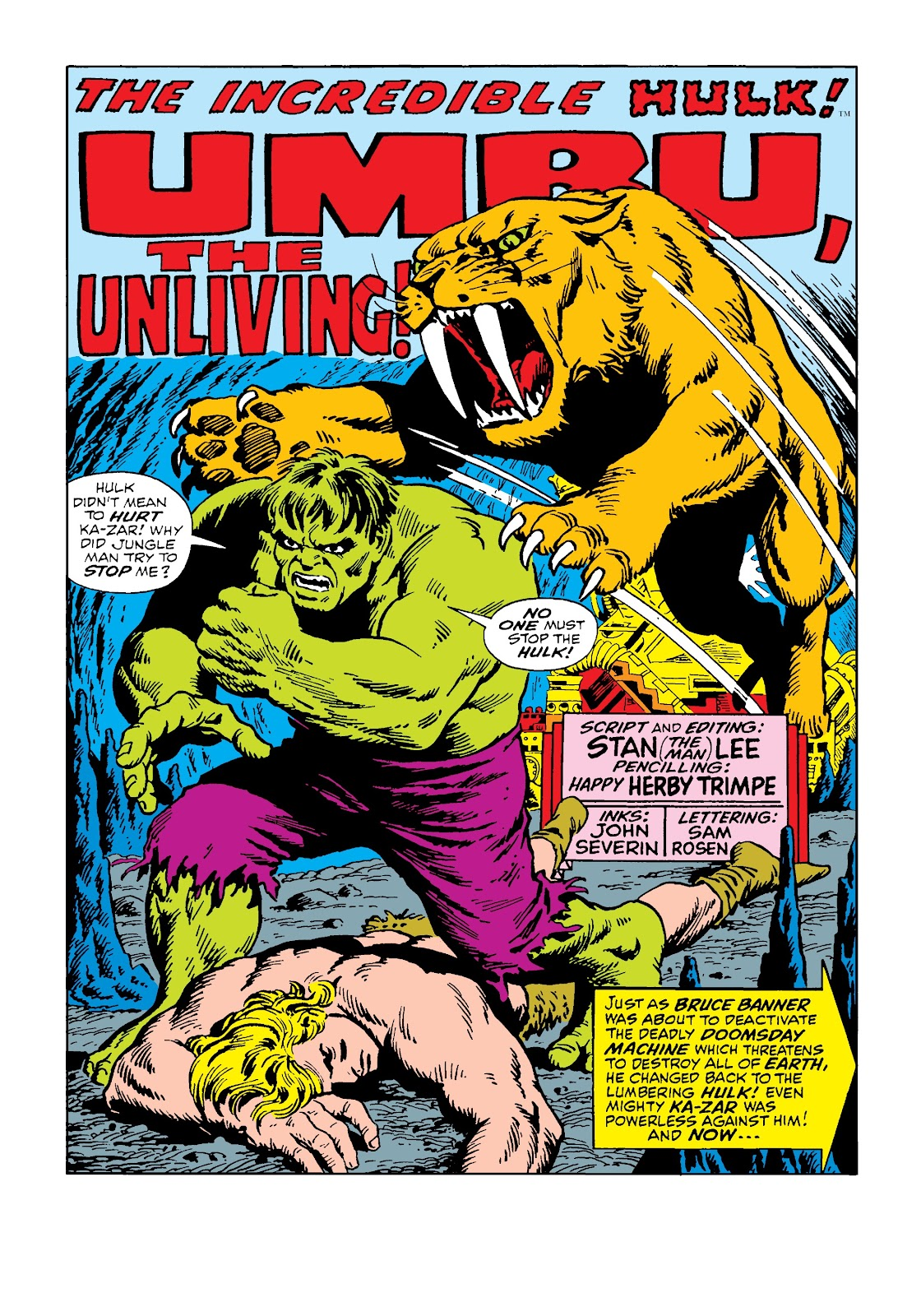 Read online Marvel Masterworks: The Incredible Hulk comic -  Issue # TPB 4 (Part 3) - 8