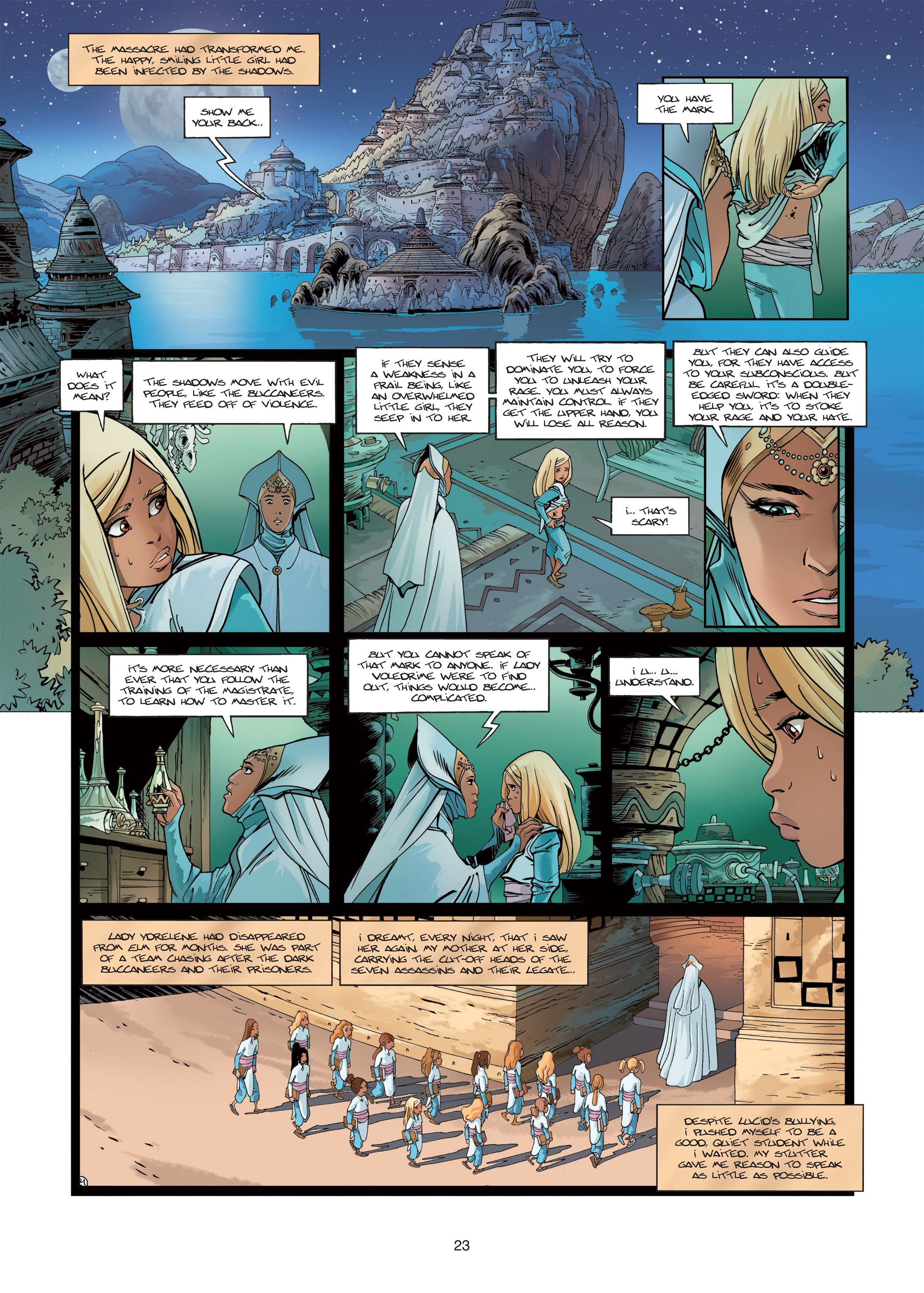 Read online Sangre Vol. 1: Sangre the Survivor comic -  Issue # Full - 23