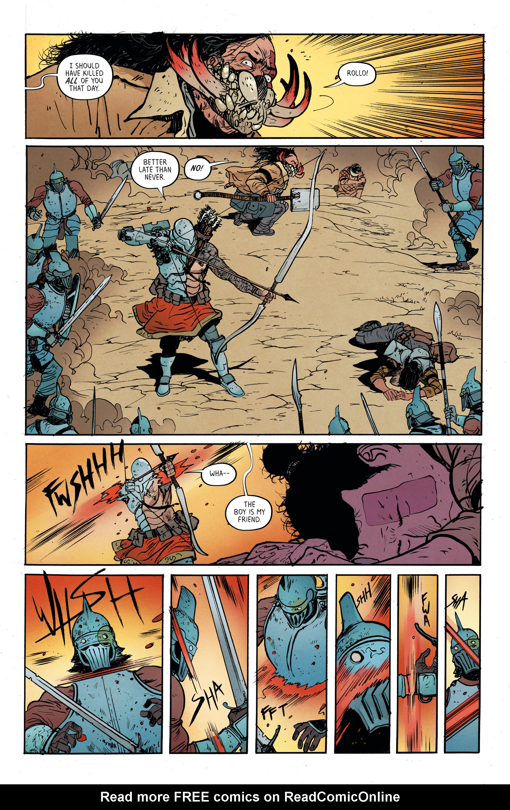 Read online Extremity comic -  Issue #3 - 15