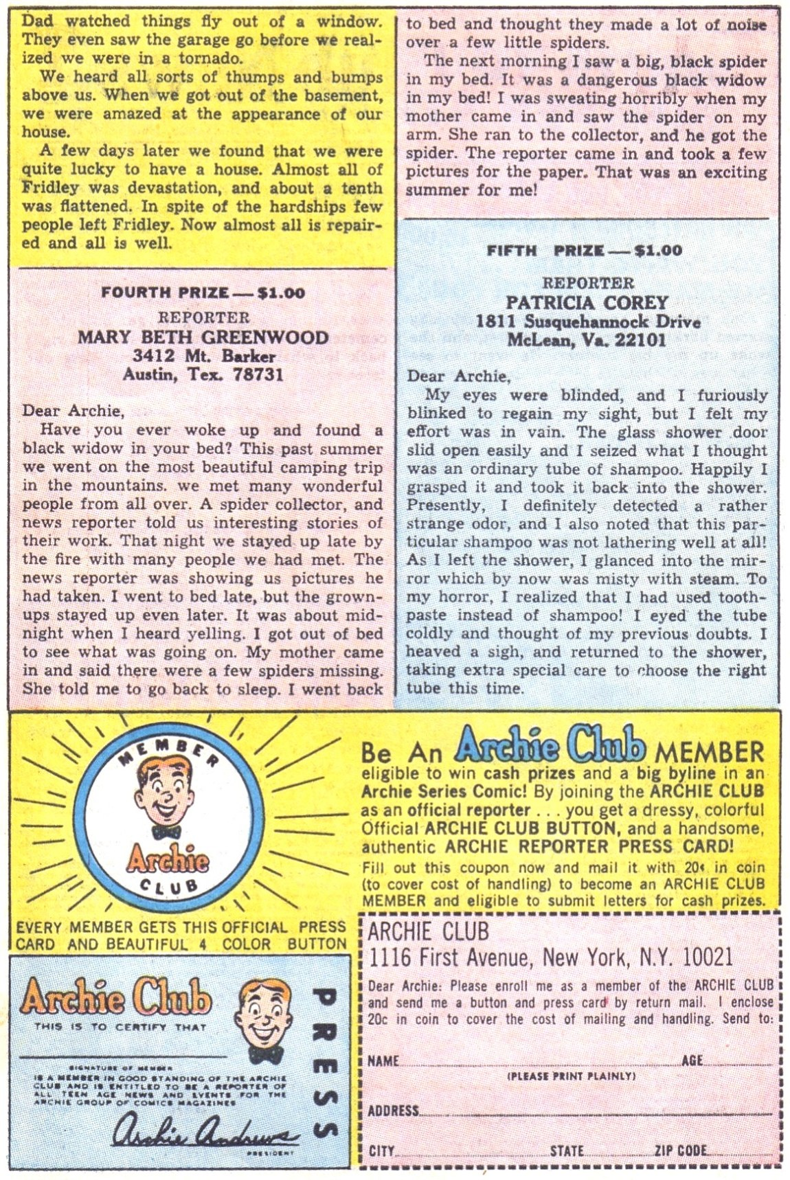Read online Archie (1960) comic -  Issue #172 - 27