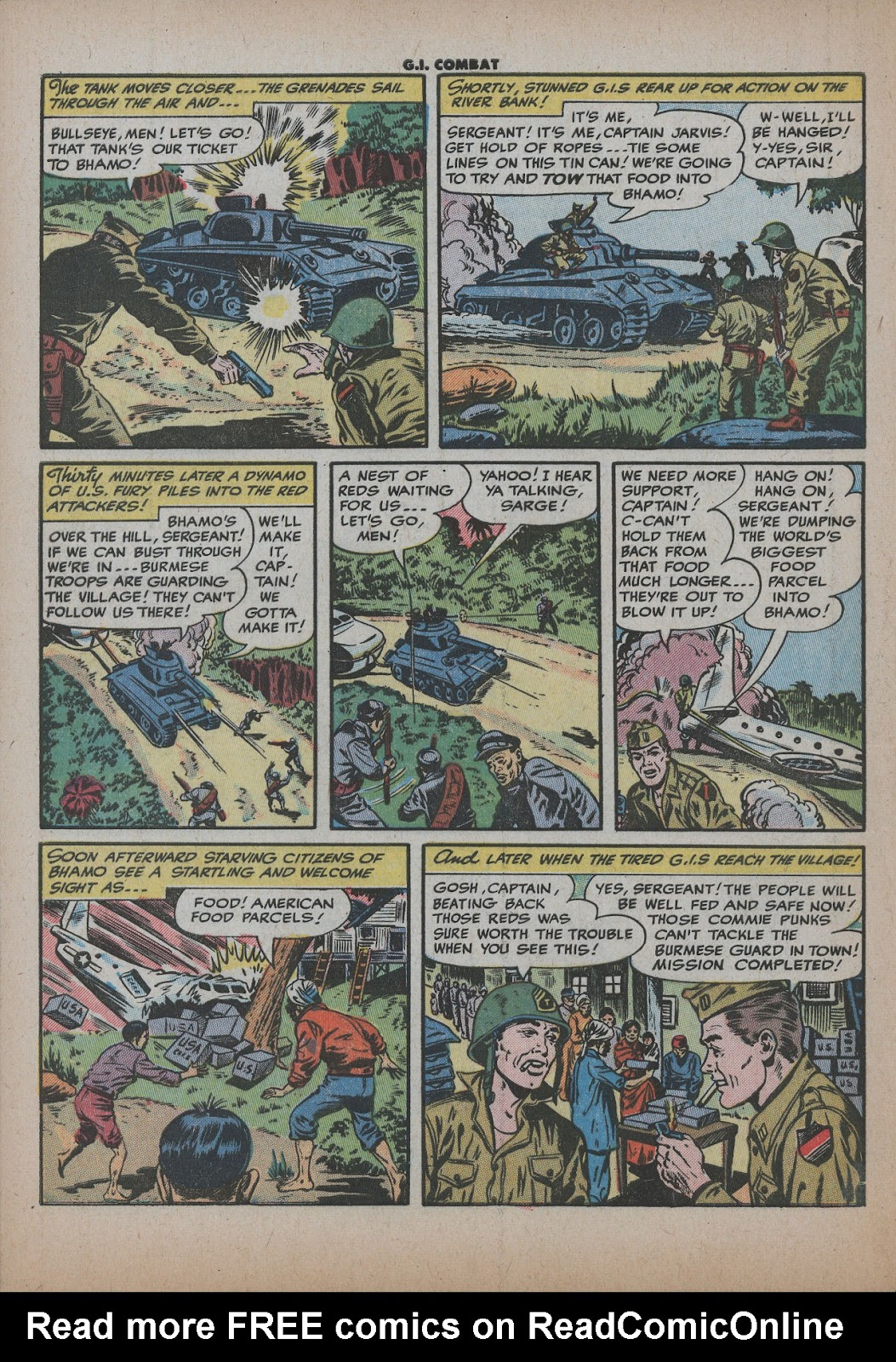 G.I. Combat (1952) issue 26 - Page 32