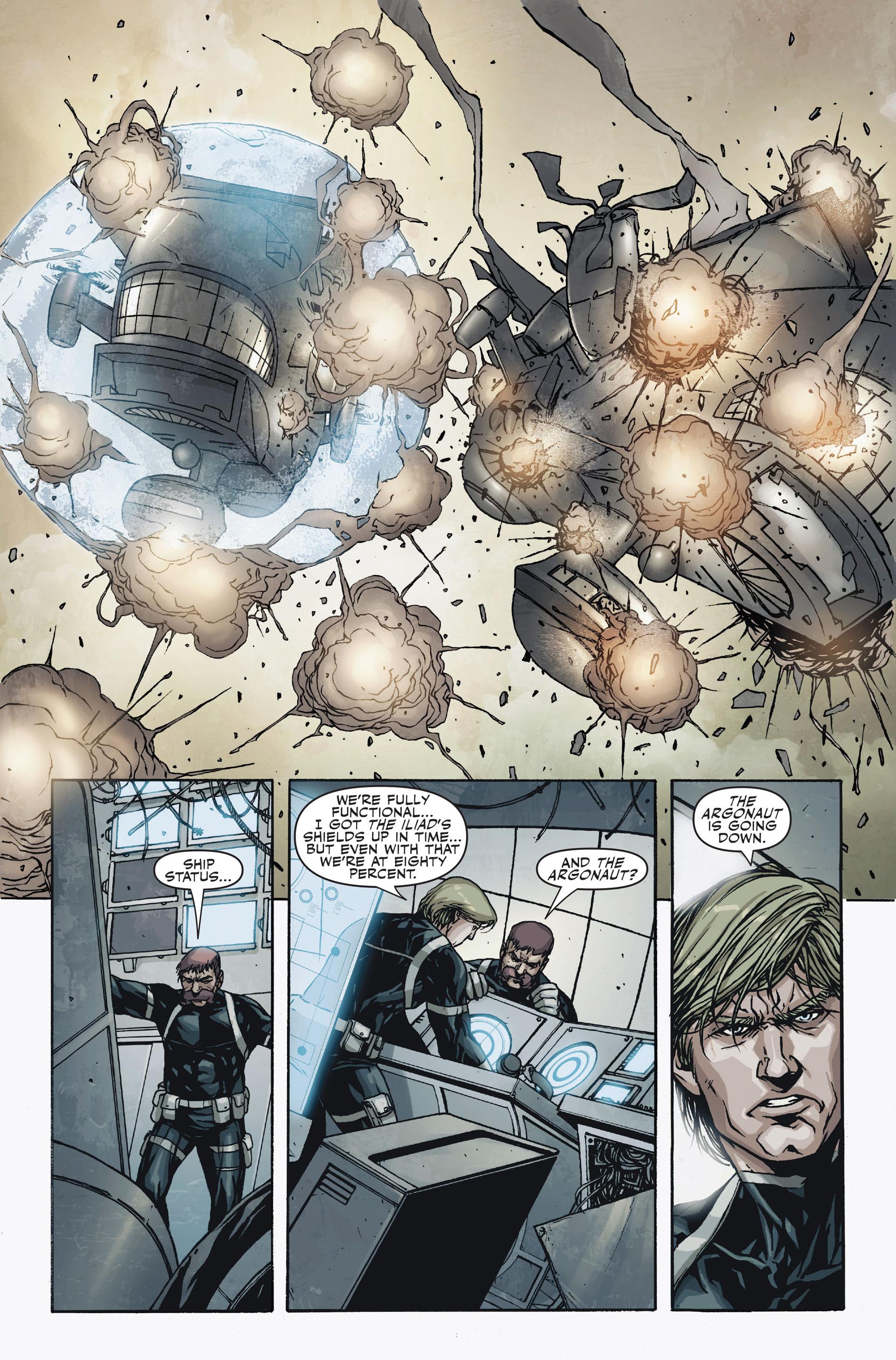 Read online Secret Warriors comic -  Issue #18 - 22