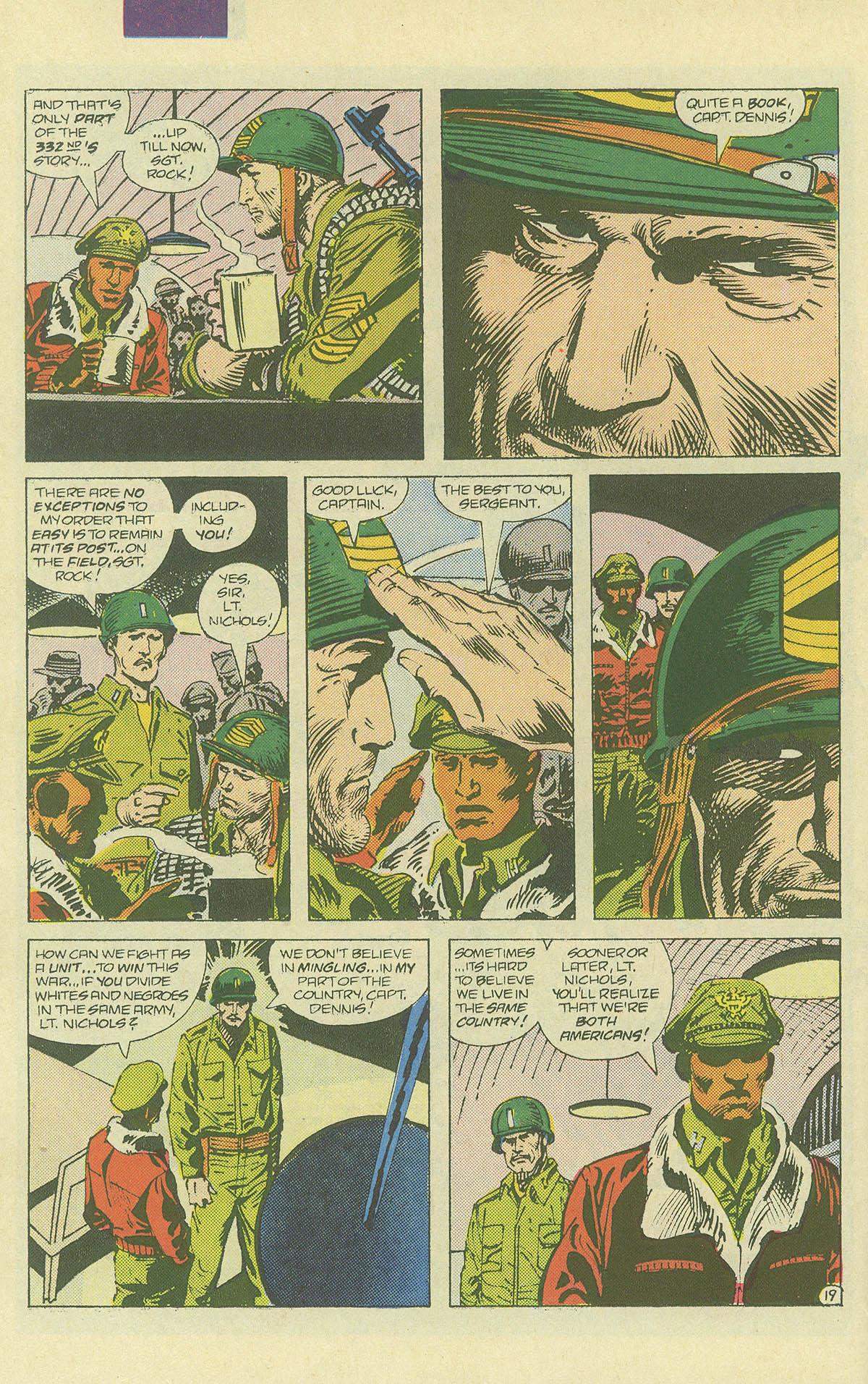 Read online Sgt. Rock comic -  Issue #406 - 25