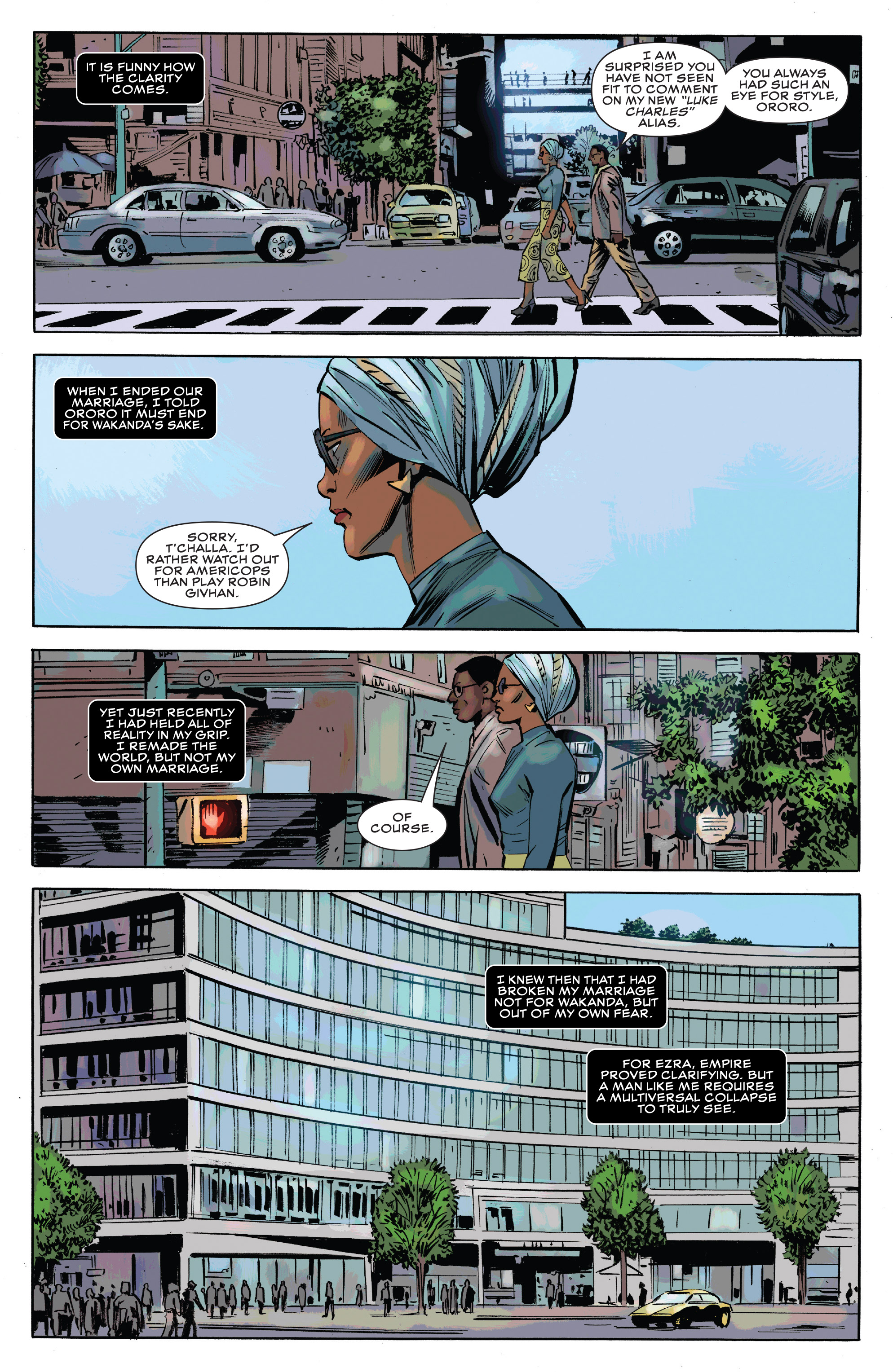 Read online Black Panther and the Crew comic -  Issue #3 - 13