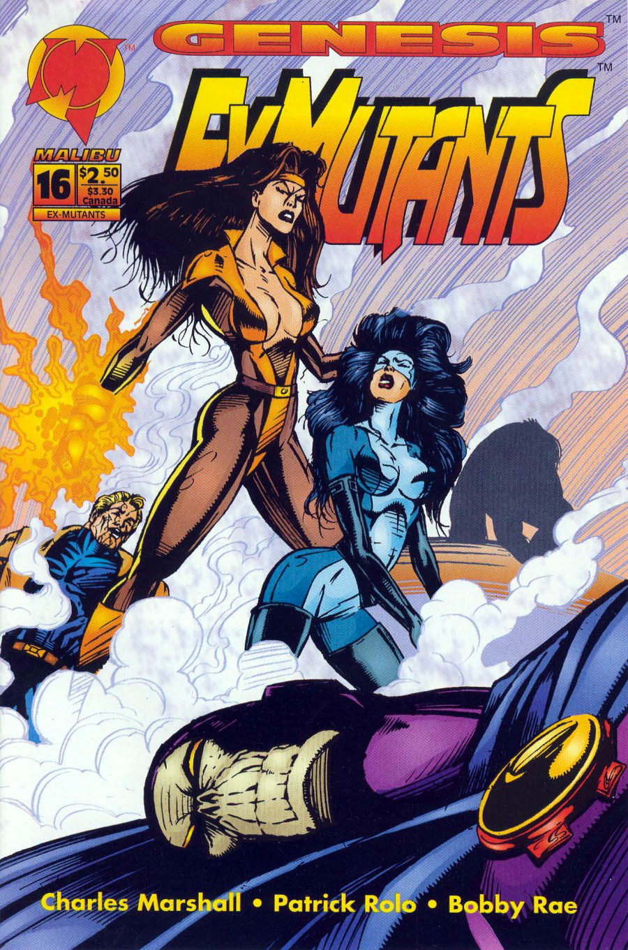Read online Ex-Mutants comic -  Issue #16 - 1