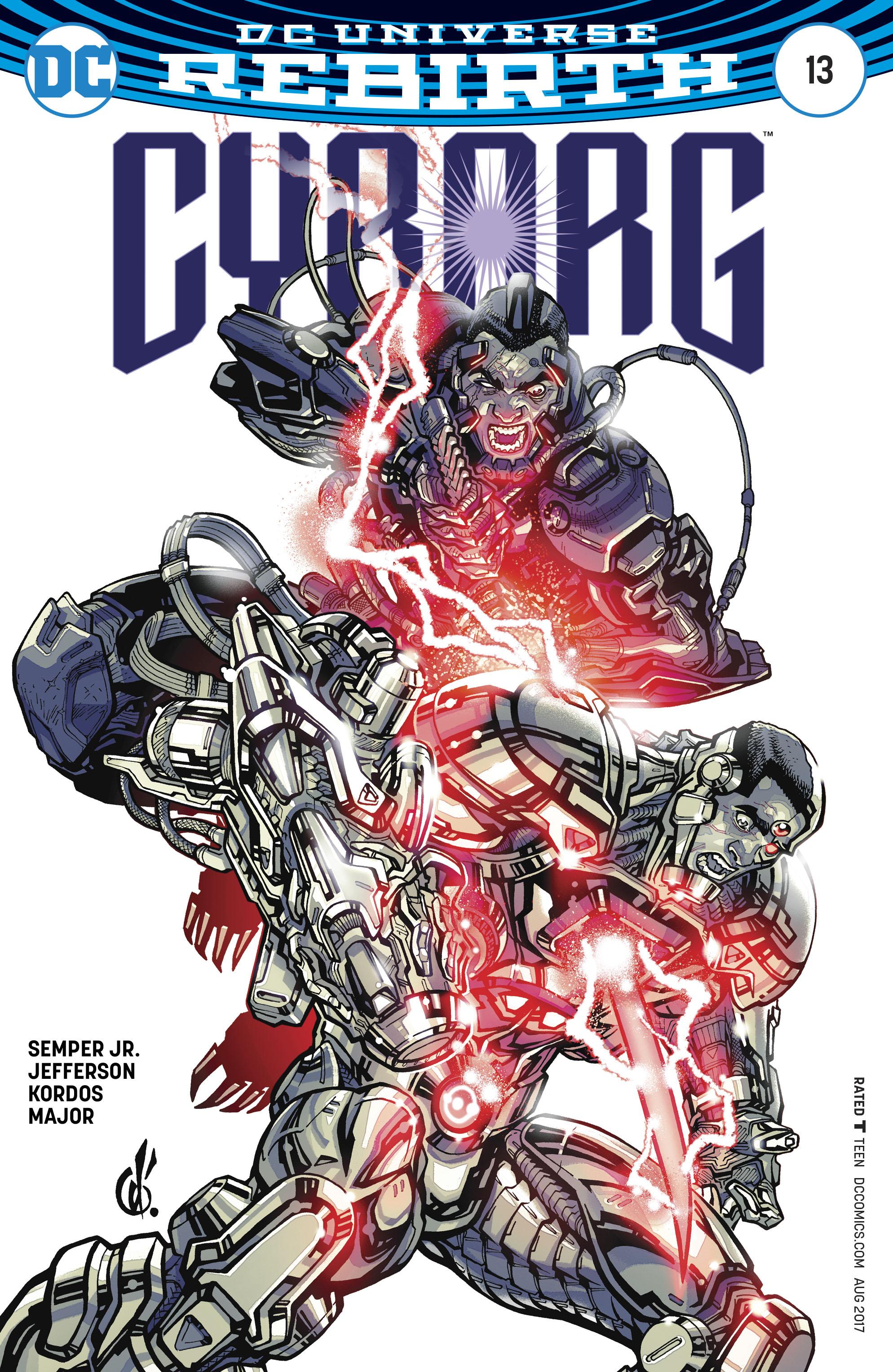 Read online Cyborg (2016) comic -  Issue #13 - 3