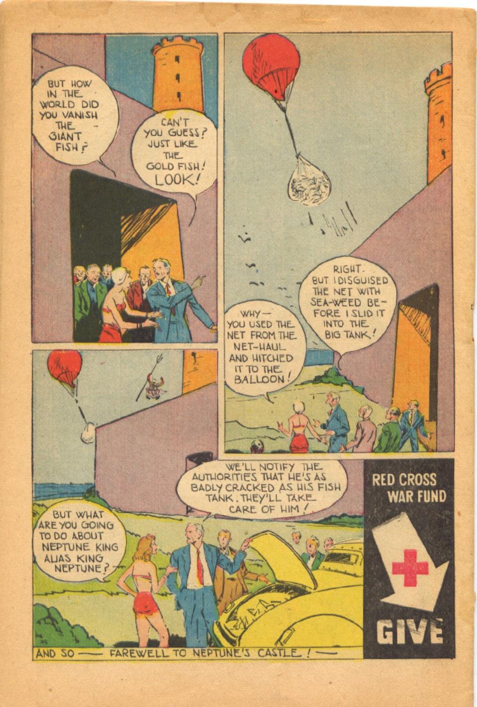 Read online Super-Magician Comics comic -  Issue #38 - 50