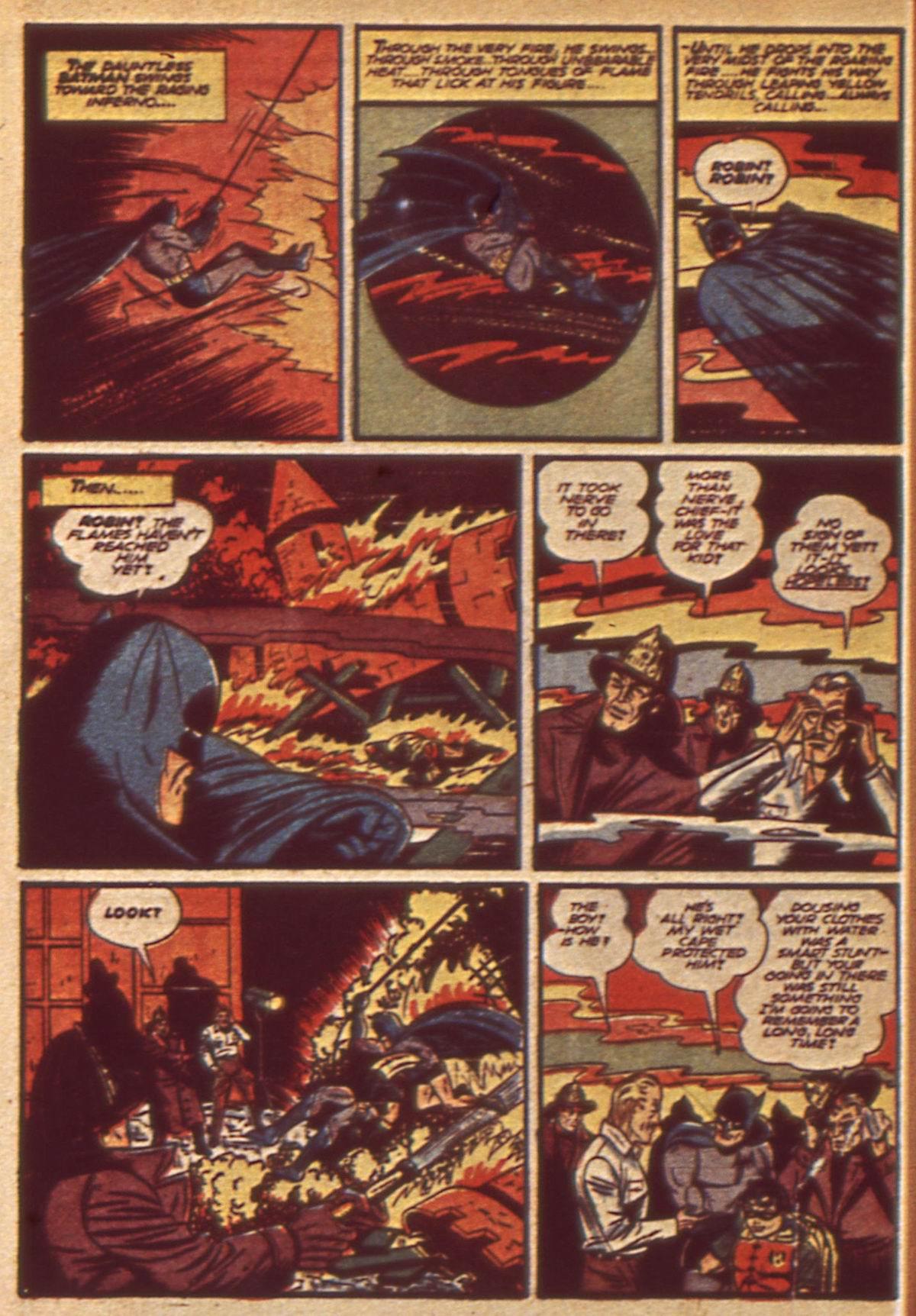 Read online Detective Comics (1937) comic -  Issue #49 - 10