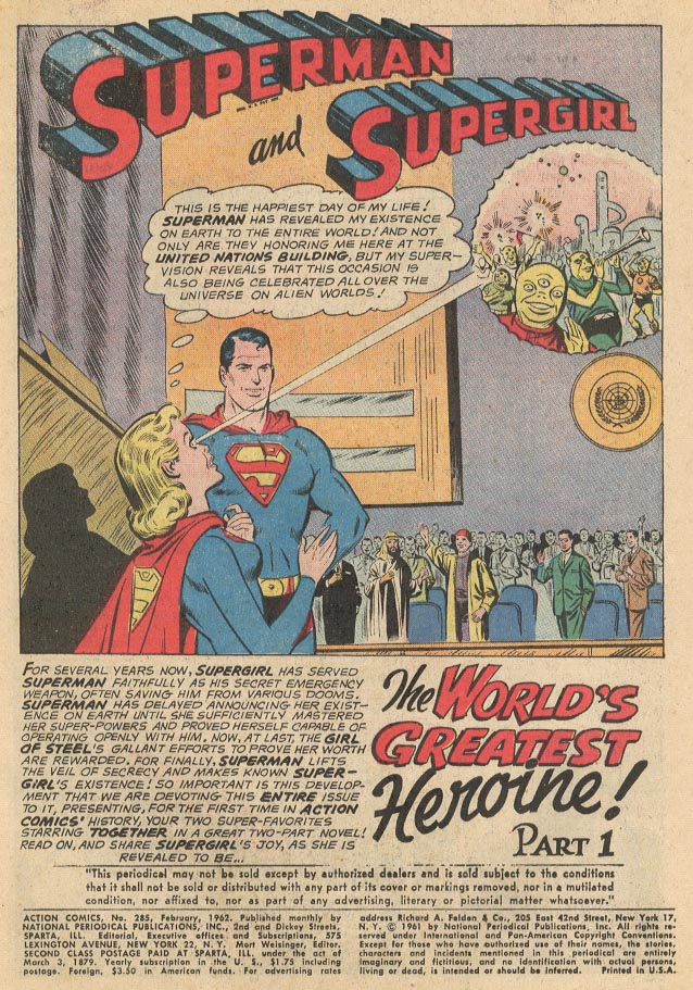Read online Action Comics (1938) comic -  Issue #285 - 3