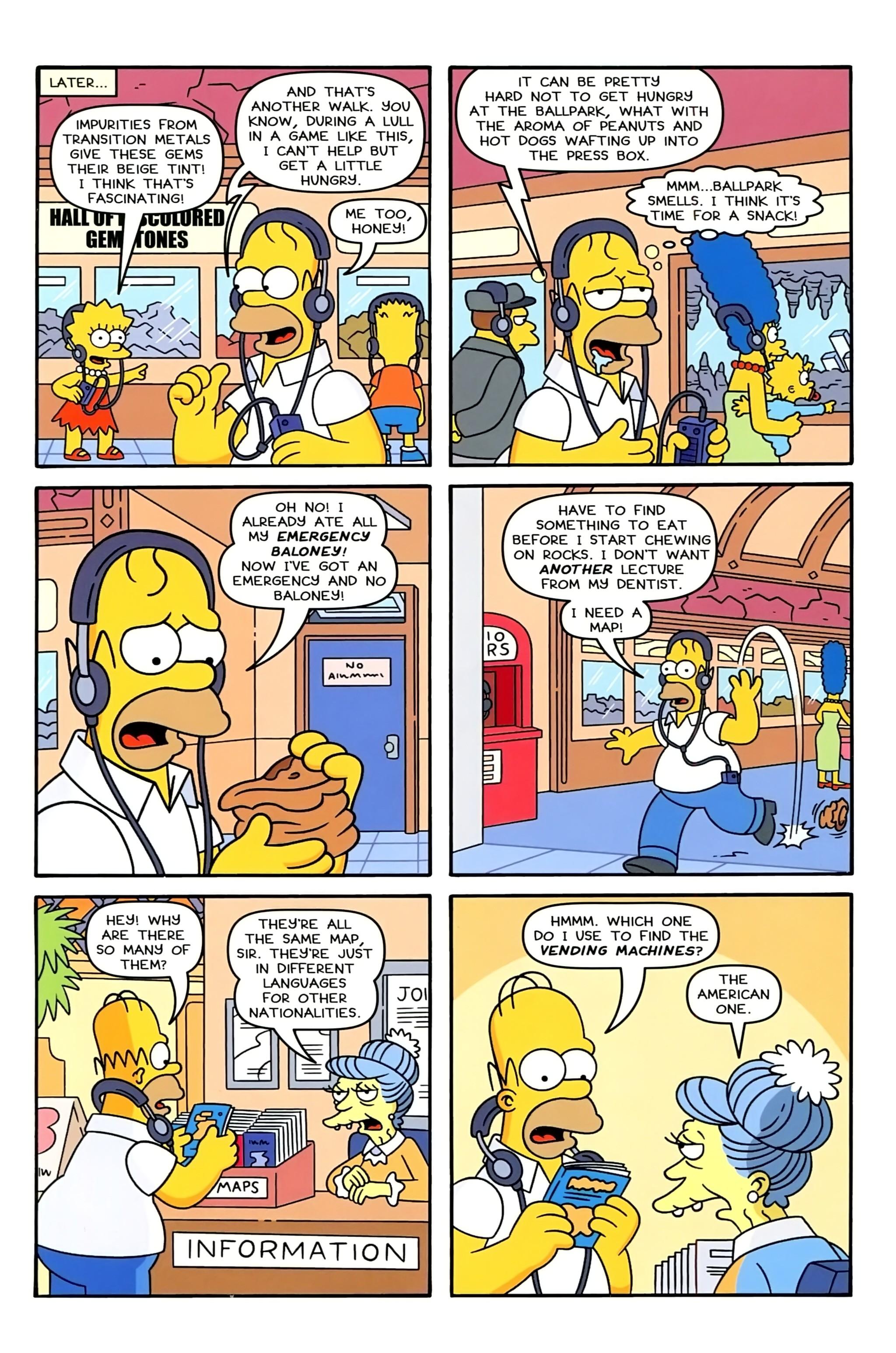 Read online Simpsons Comics comic -  Issue #234 - 5