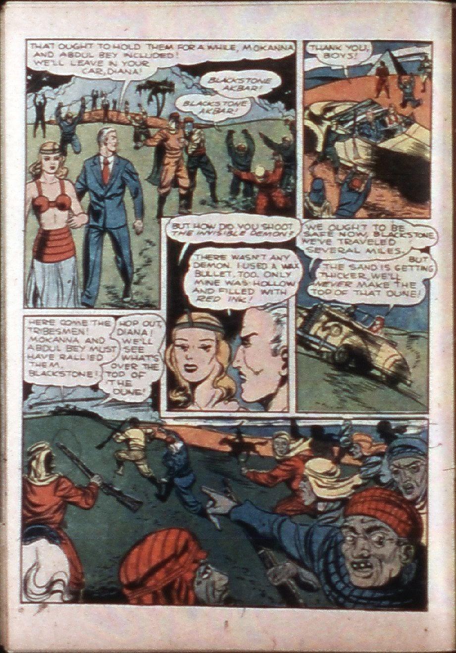 Read online Super-Magician Comics comic -  Issue #3 - 32