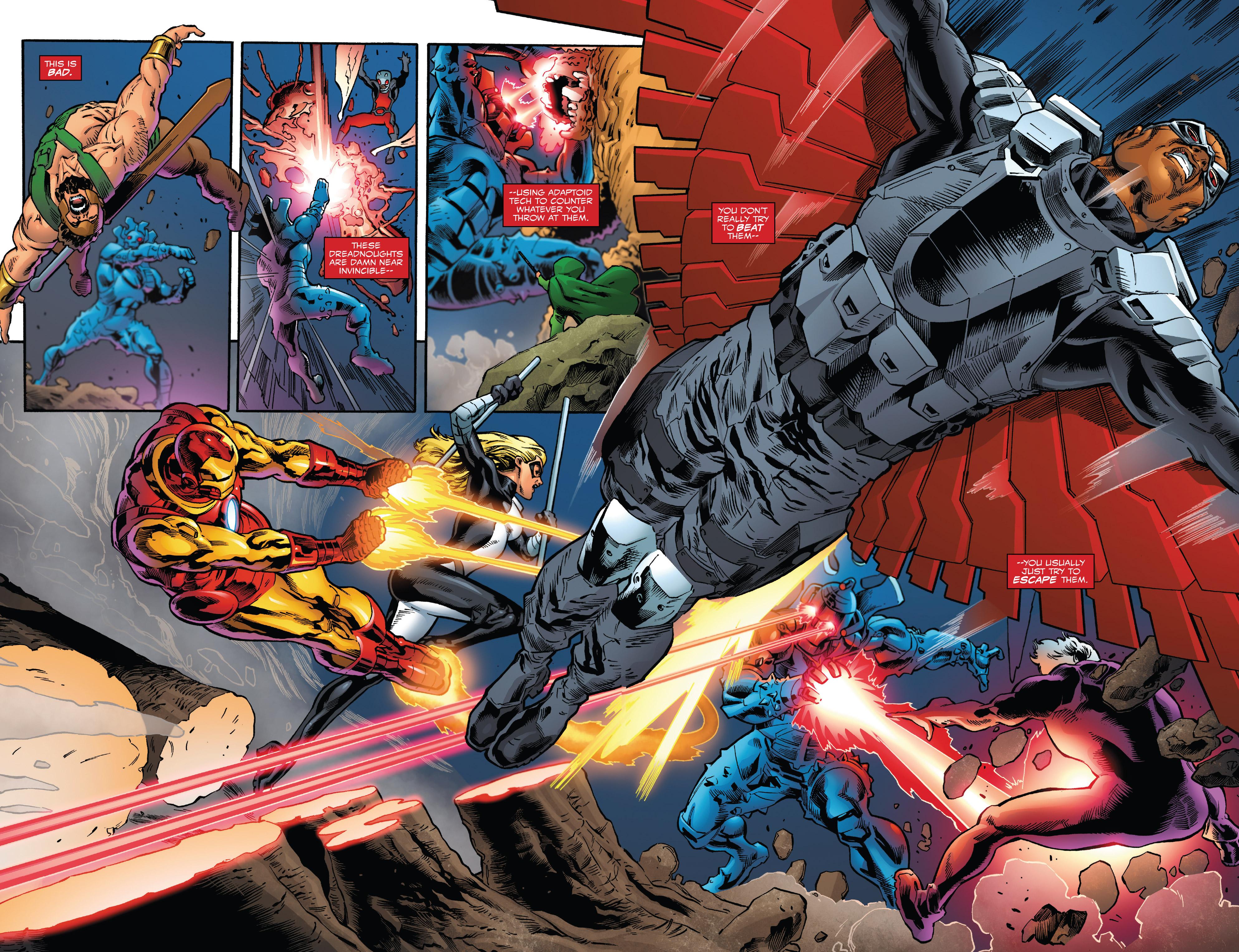 Read online Captain America: Sam Wilson comic -  Issue #23 - 16