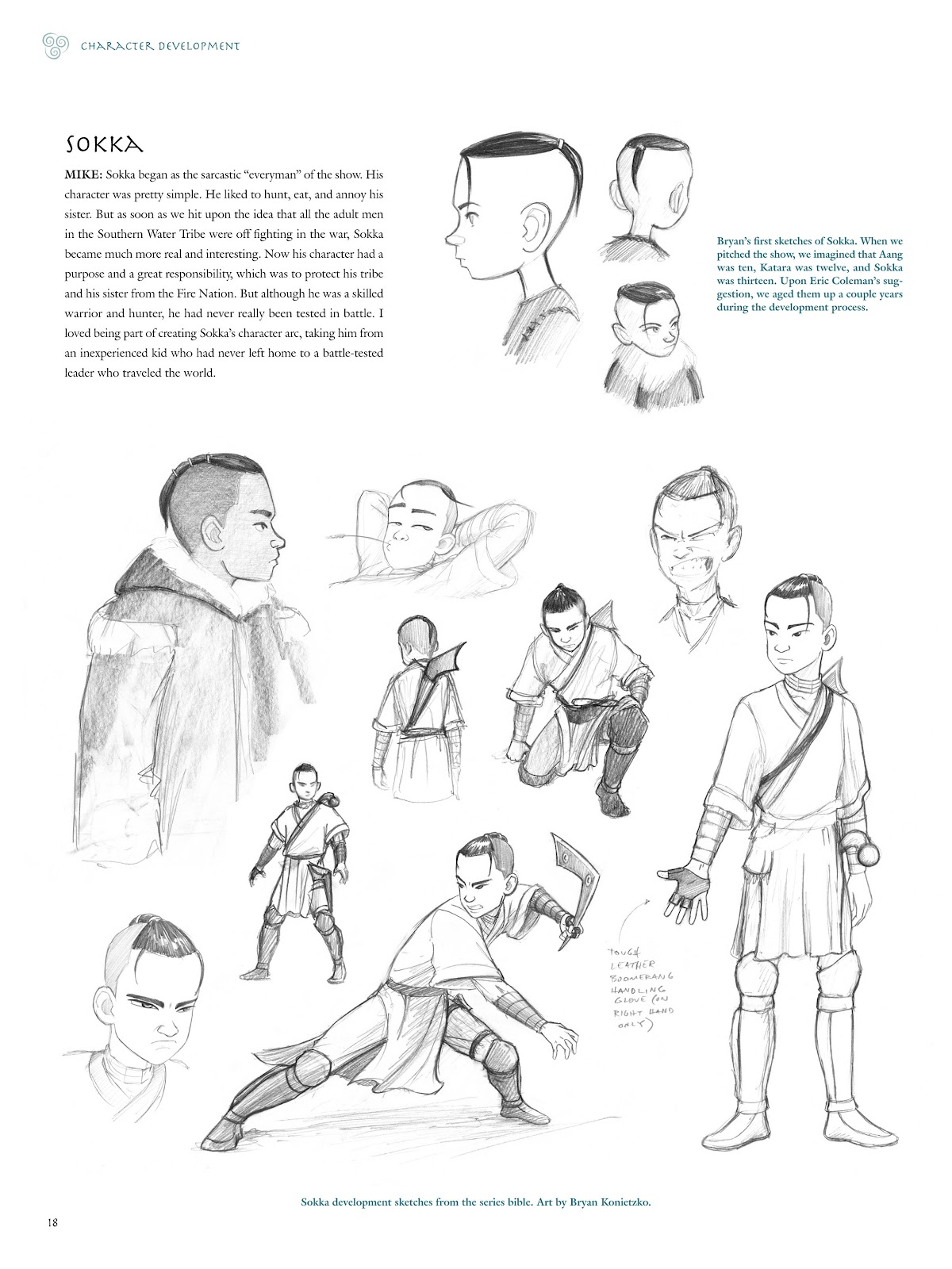Read online Avatar: The Last Airbender - The Art of the Animated Series comic -  Issue # TPB (Part 1) - 21
