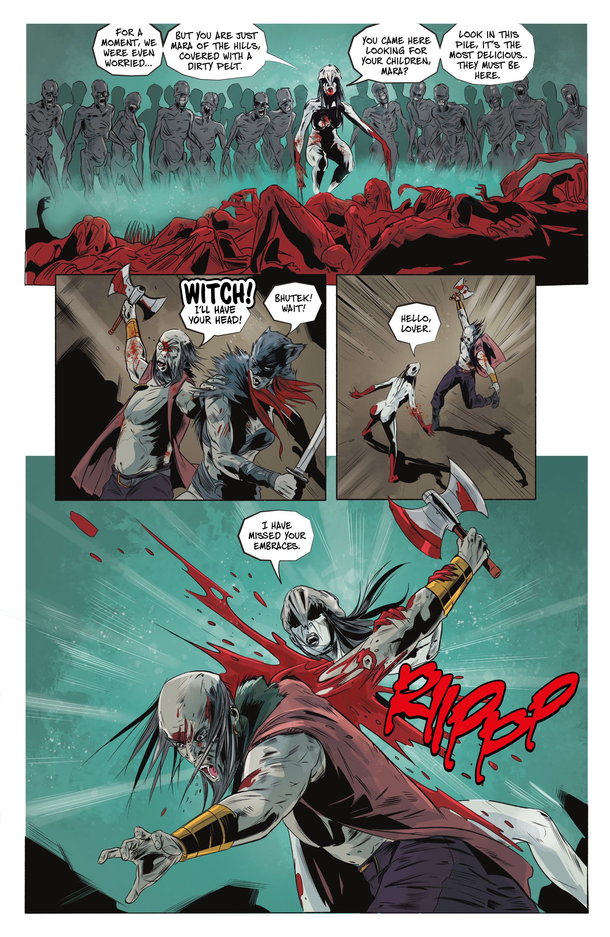 Read online Ghost Wolf comic -  Issue #4 - 20
