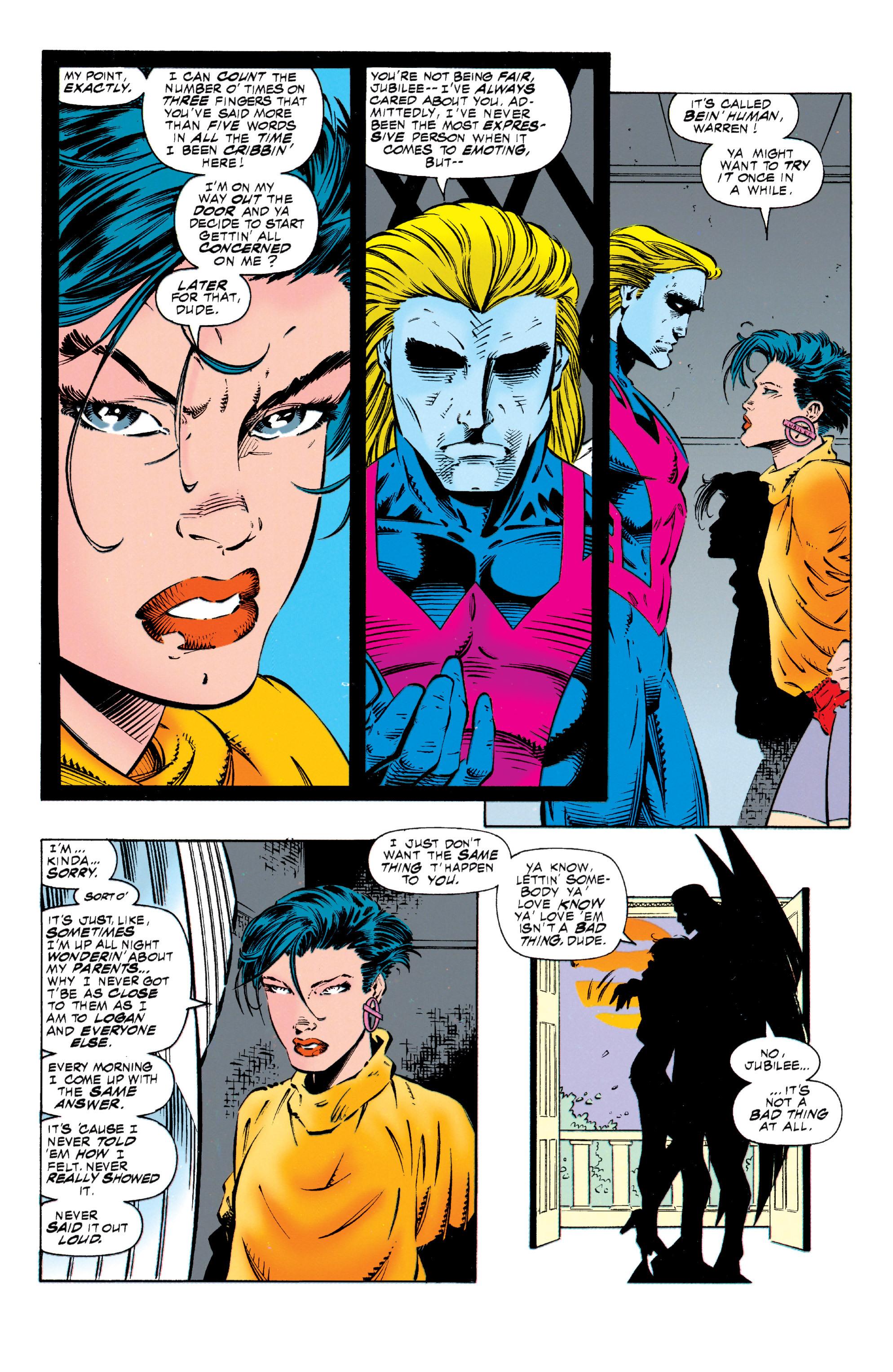 Read online Uncanny X-Men (1963) comic -  Issue #318 - 19