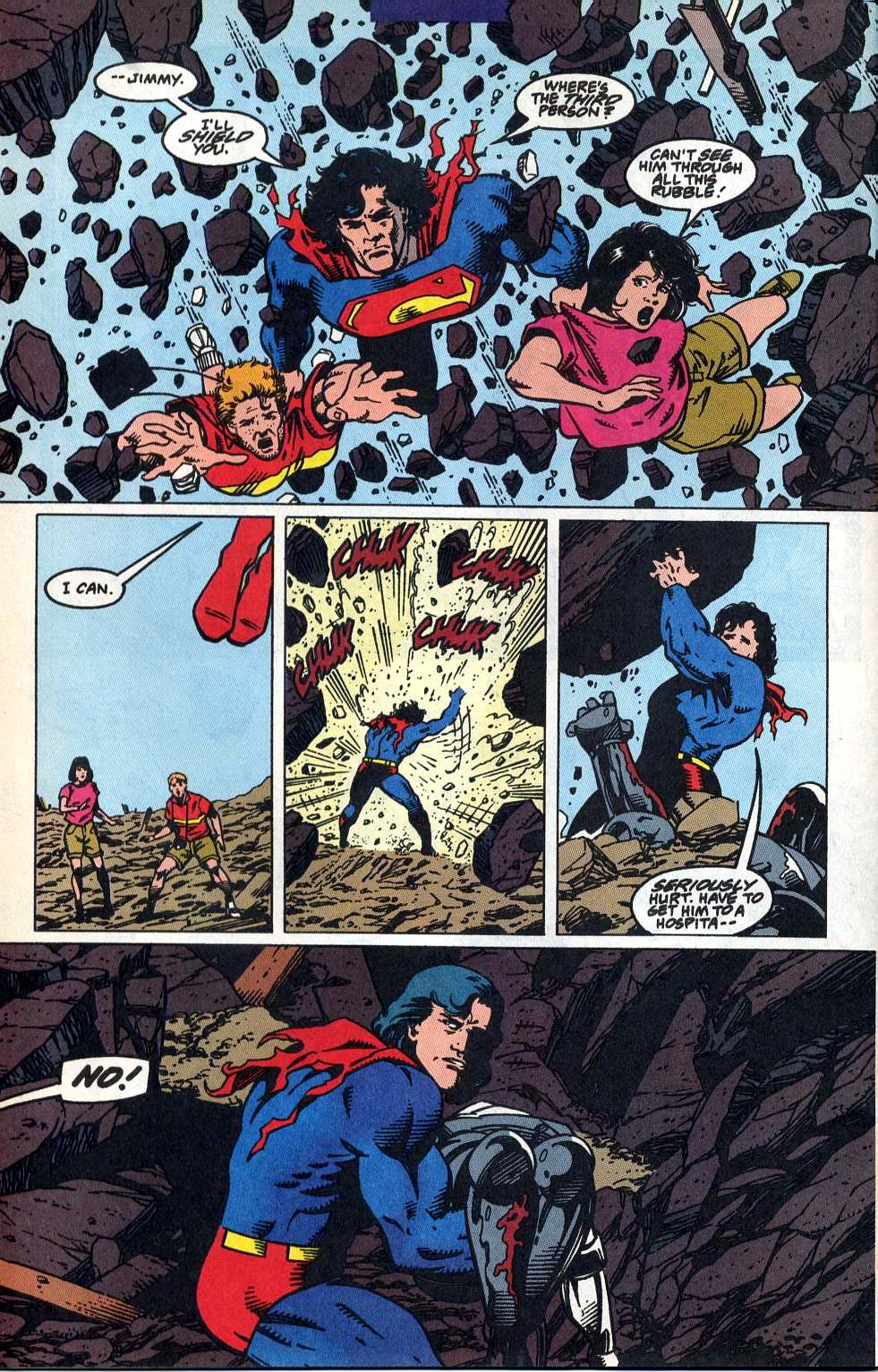 Read online Adventures of Superman (1987) comic -  Issue #515 - 22