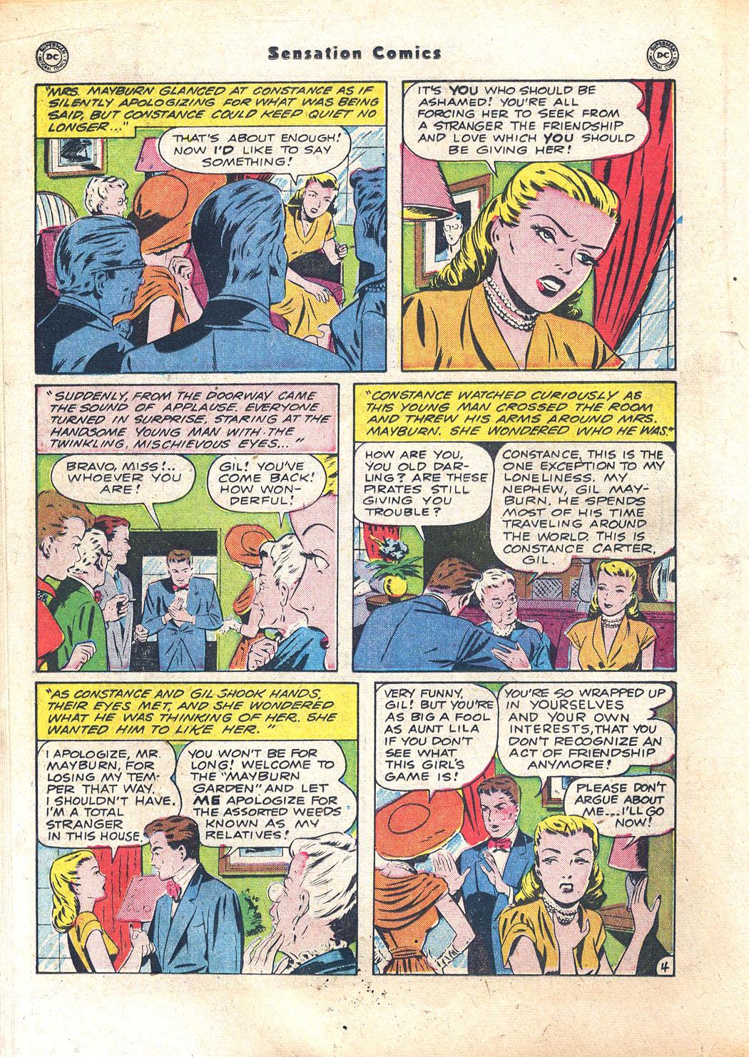 Read online Sensation (Mystery) Comics comic -  Issue #94 - 26
