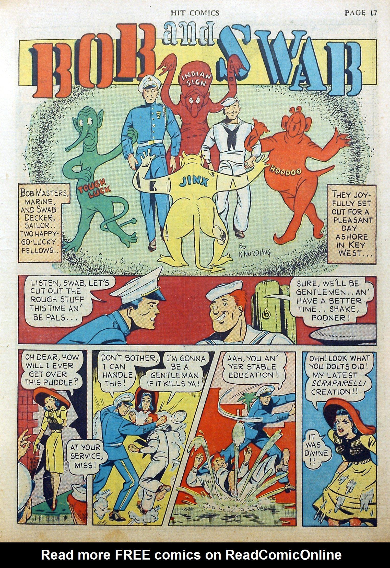 Read online Hit Comics comic -  Issue #17 - 19