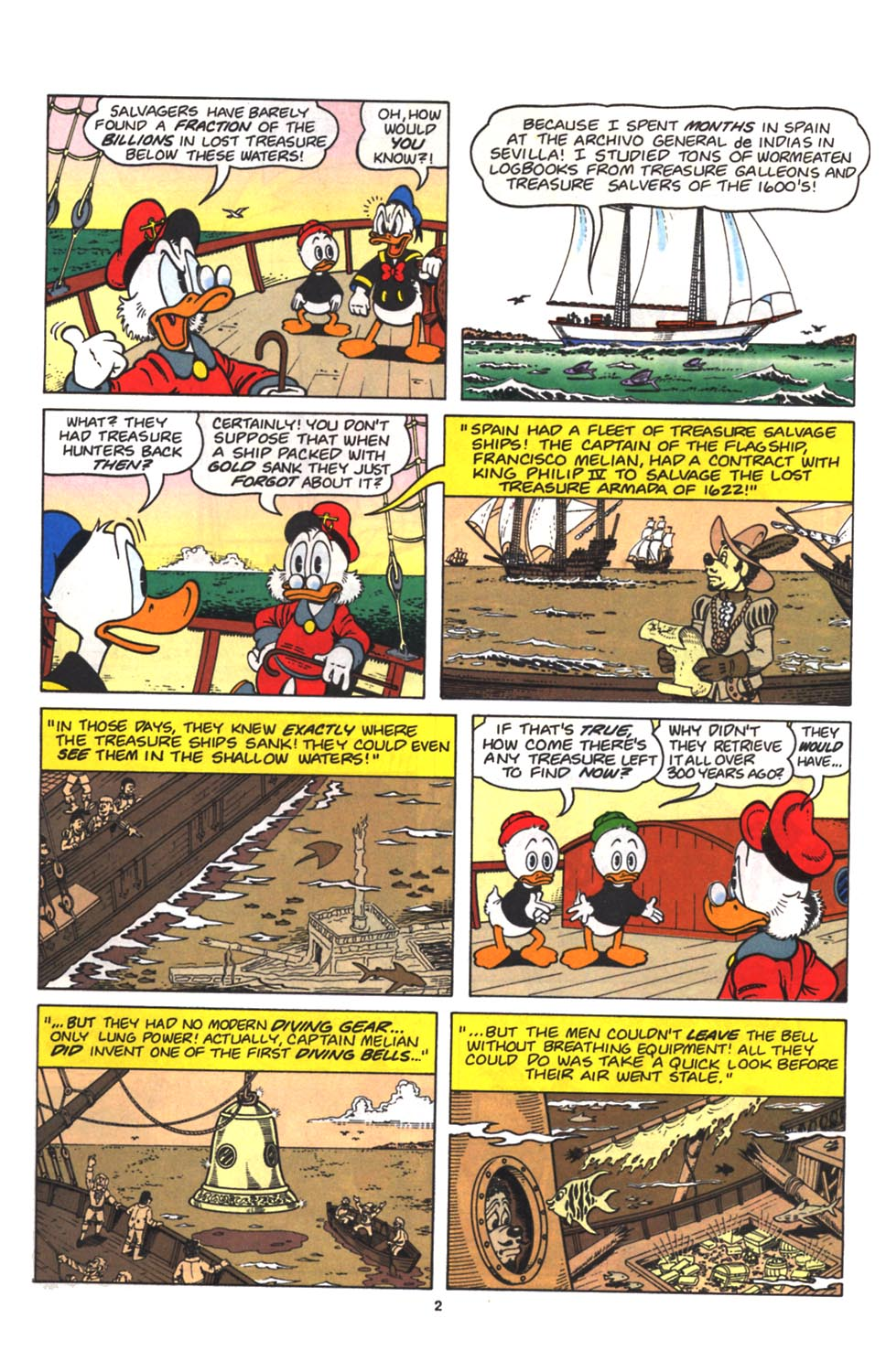 Read online Uncle Scrooge (1953) comic -  Issue #263 - 3