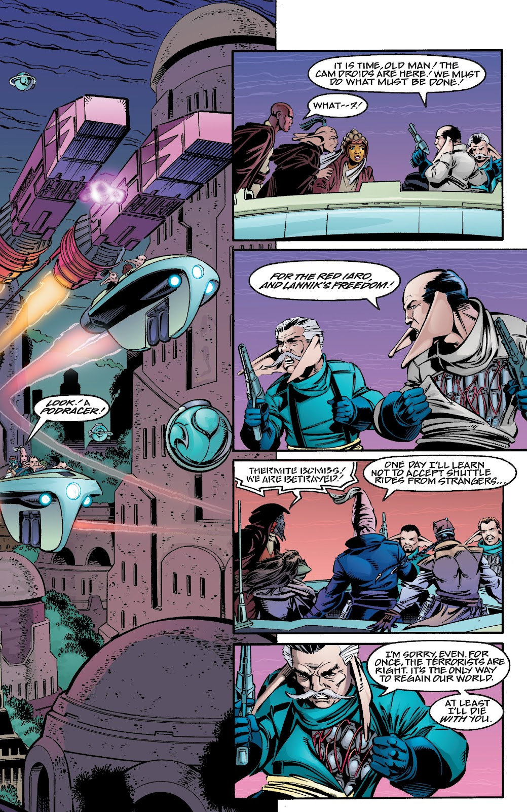 Read online Star Wars Legends Epic Collection: The Menace Revealed comic -  Issue # TPB (Part 4) - 11
