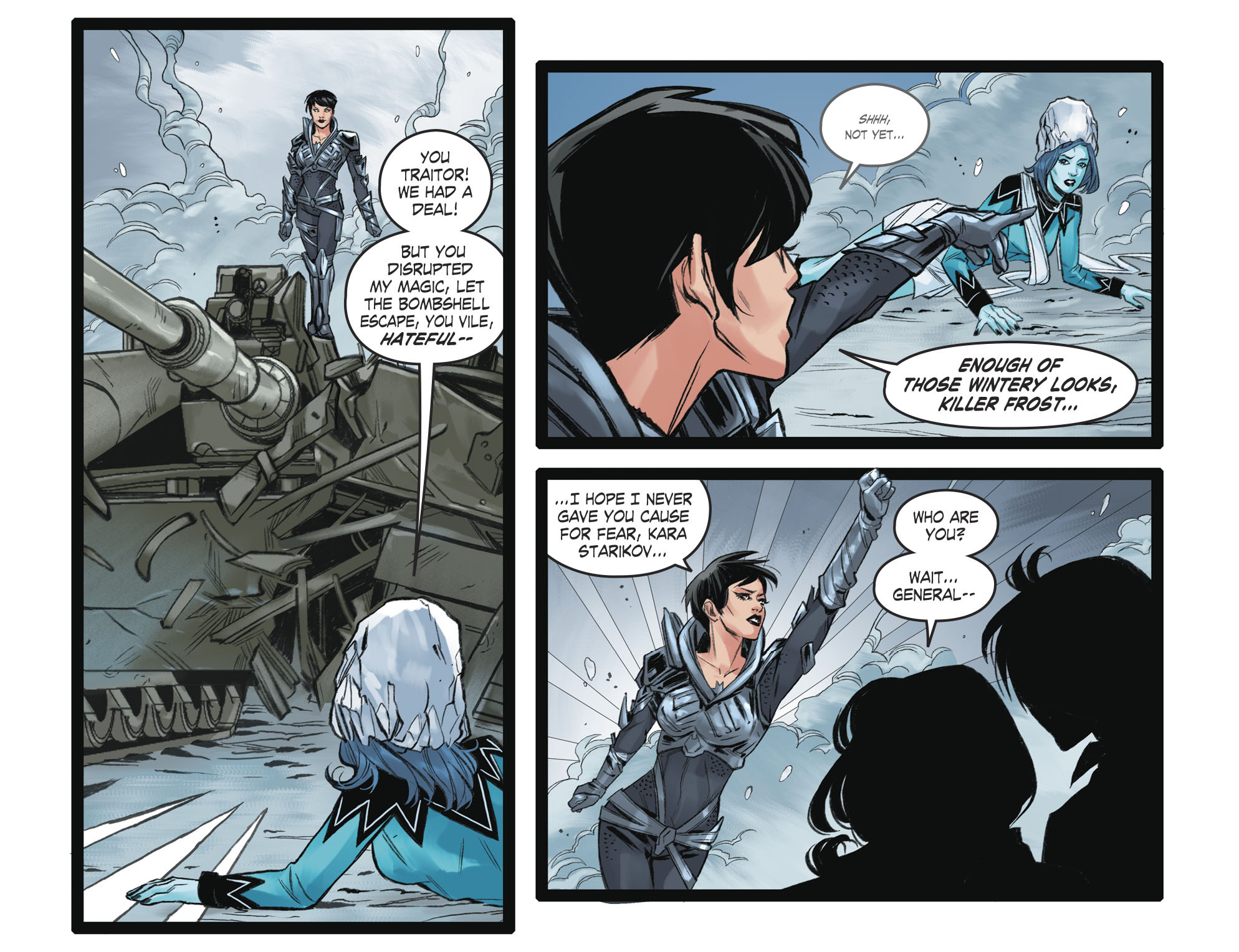 Read online DC Comics: Bombshells comic -  Issue #93 - 16
