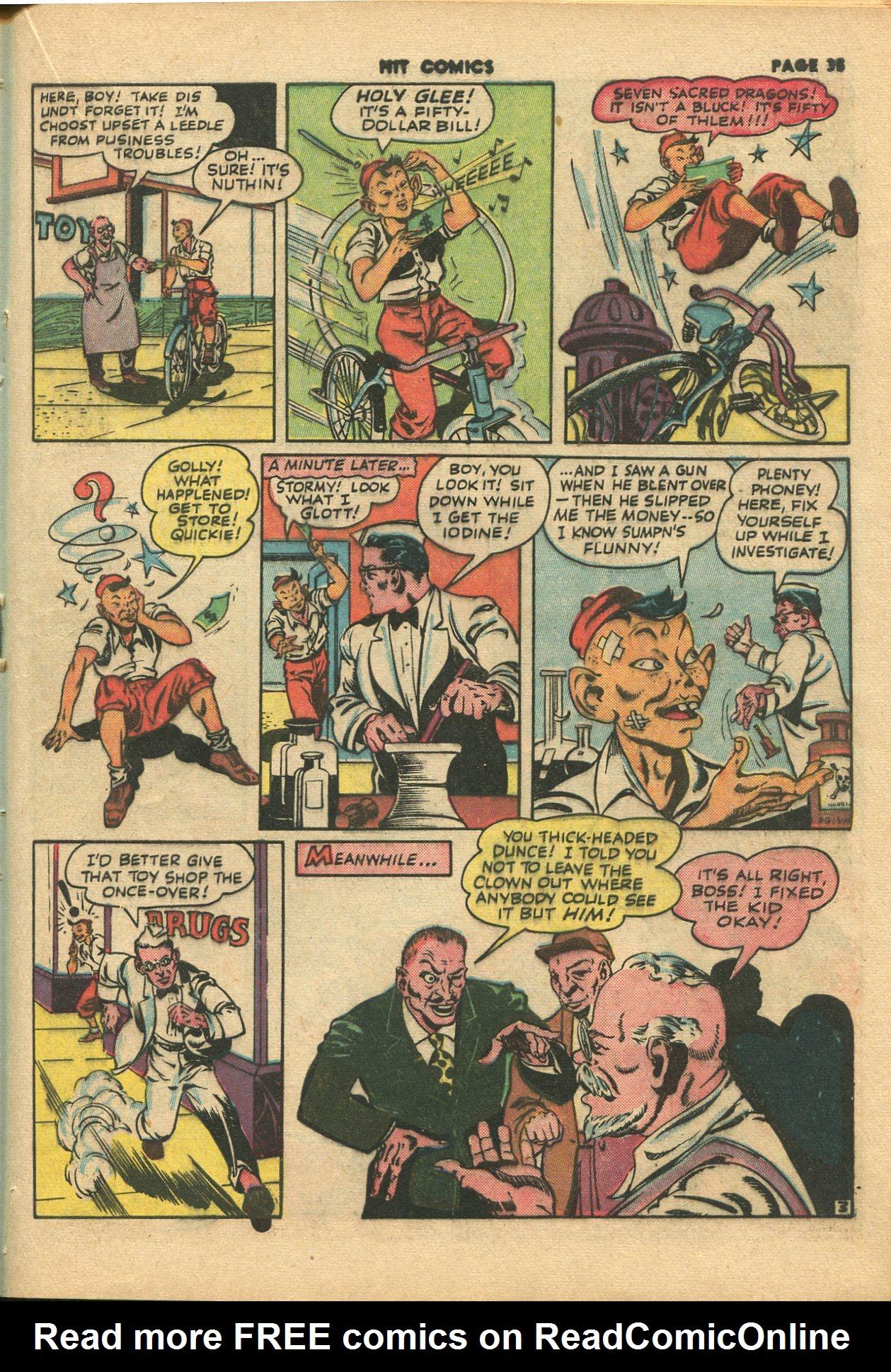 Read online Hit Comics comic -  Issue #28 - 38