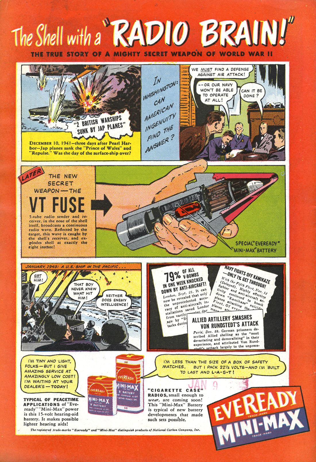 Read online Sensation (Mystery) Comics comic -  Issue #51 - 52