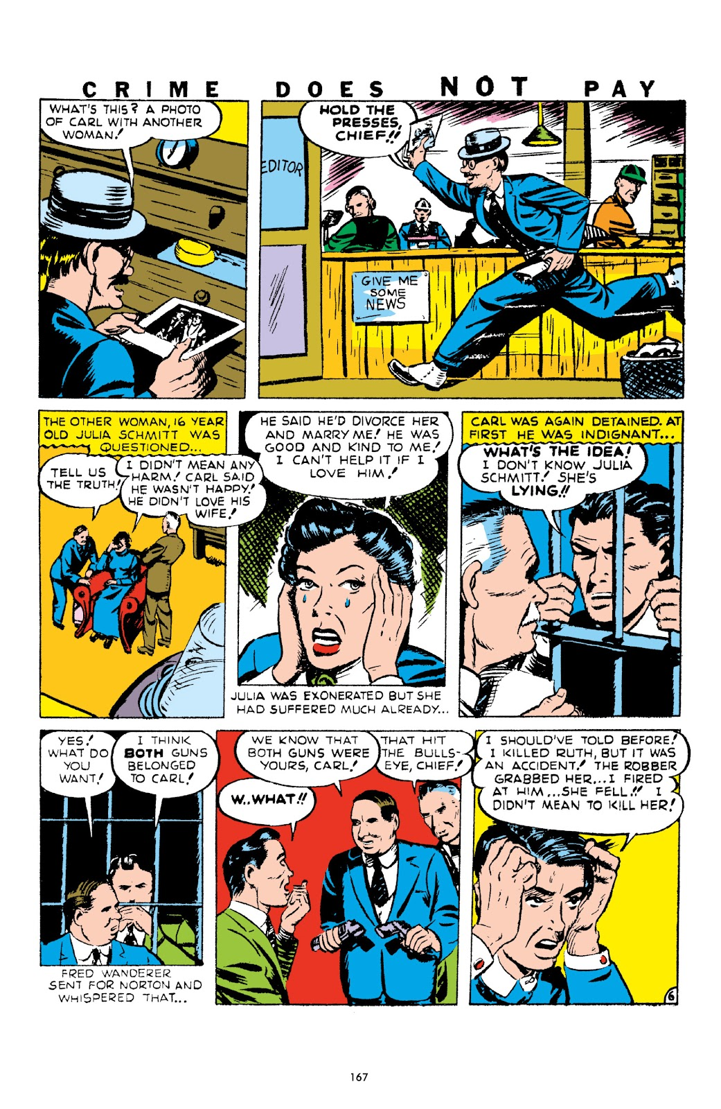 Read online Crime Does Not Pay Archives comic -  Issue # TPB 1 (Part 2) - 70