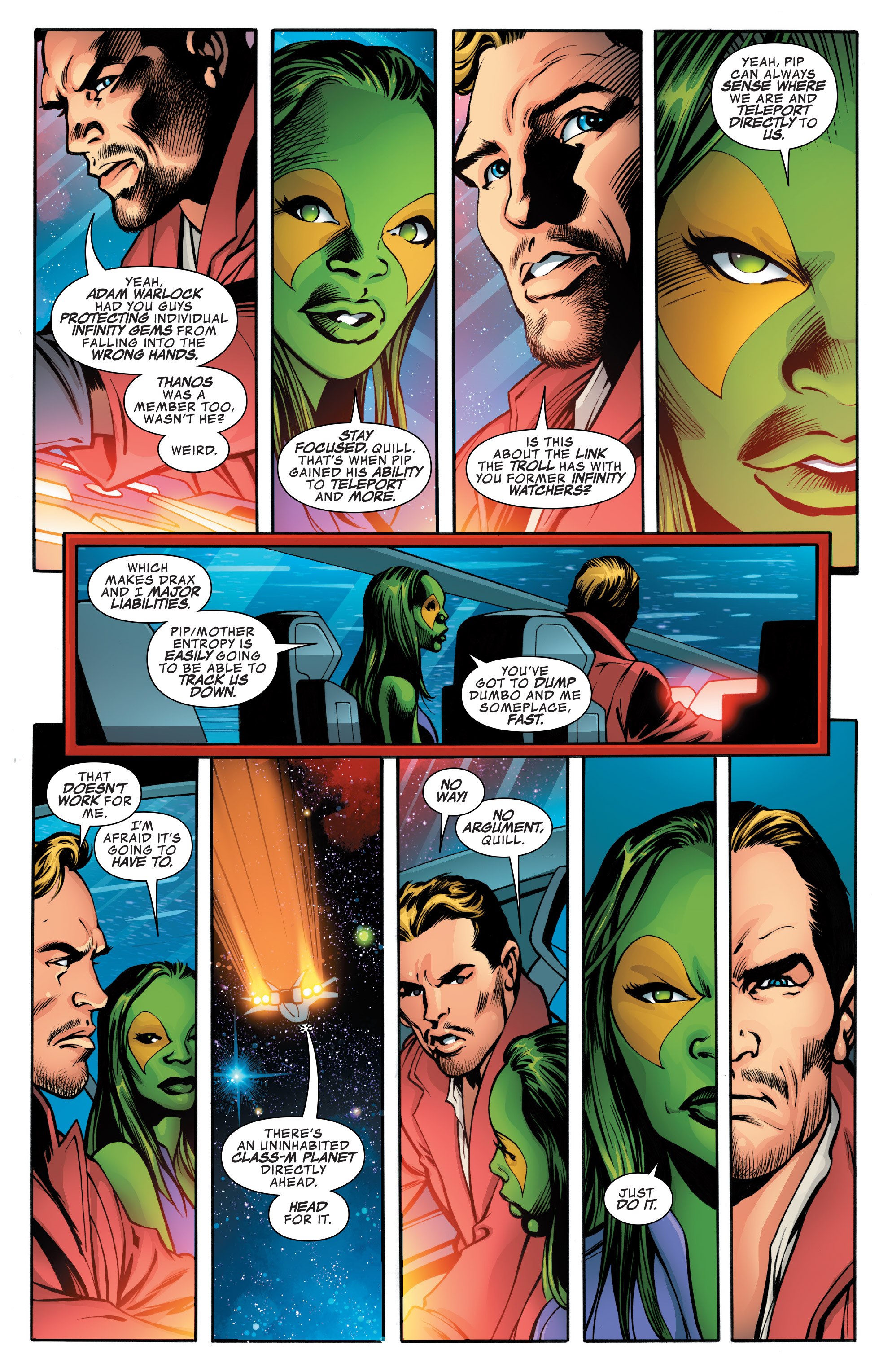 Read online Guardians of the Galaxy: Mother Entropy comic -  Issue #4 - 13