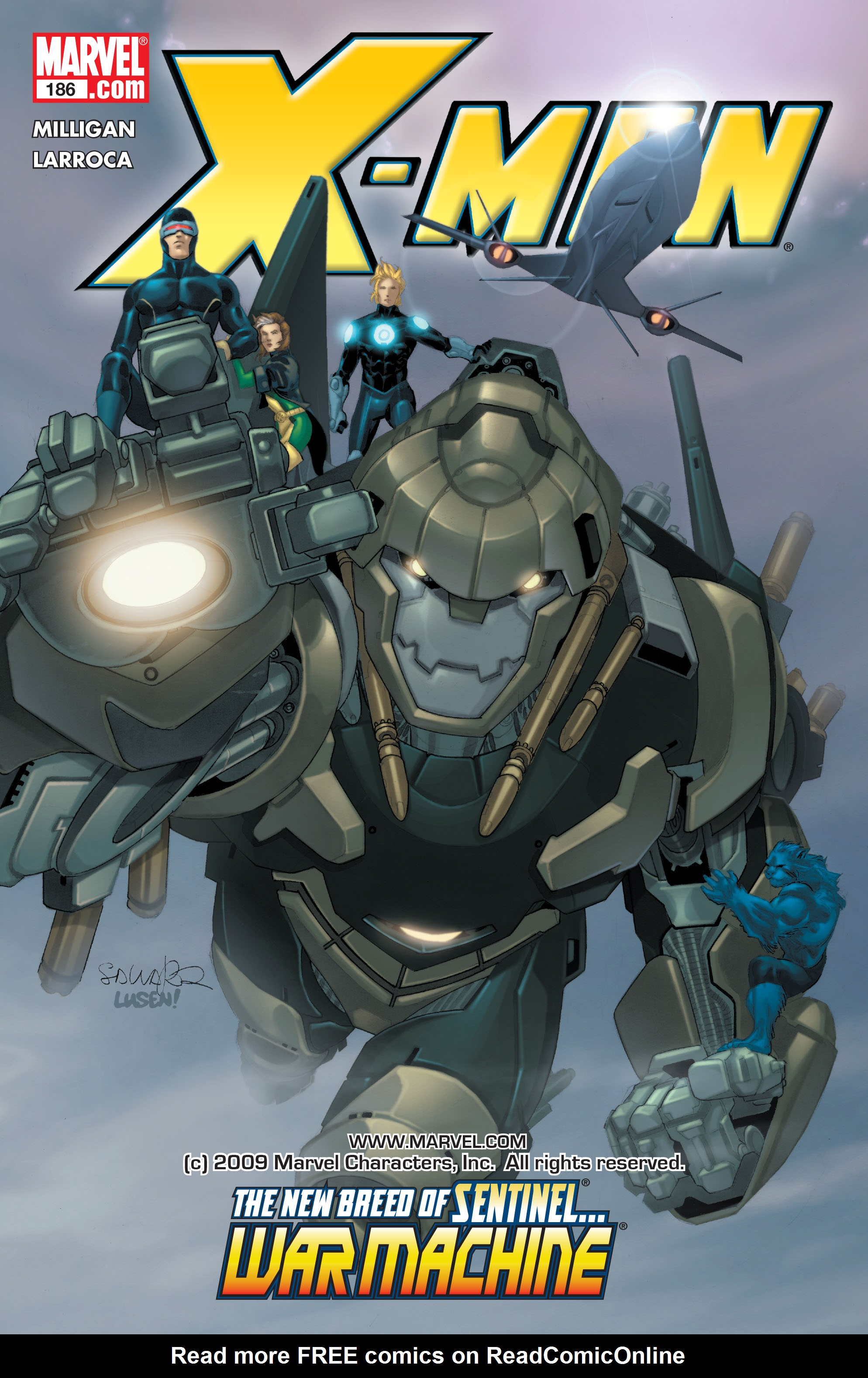 X-Men (1991) 186 Page 0