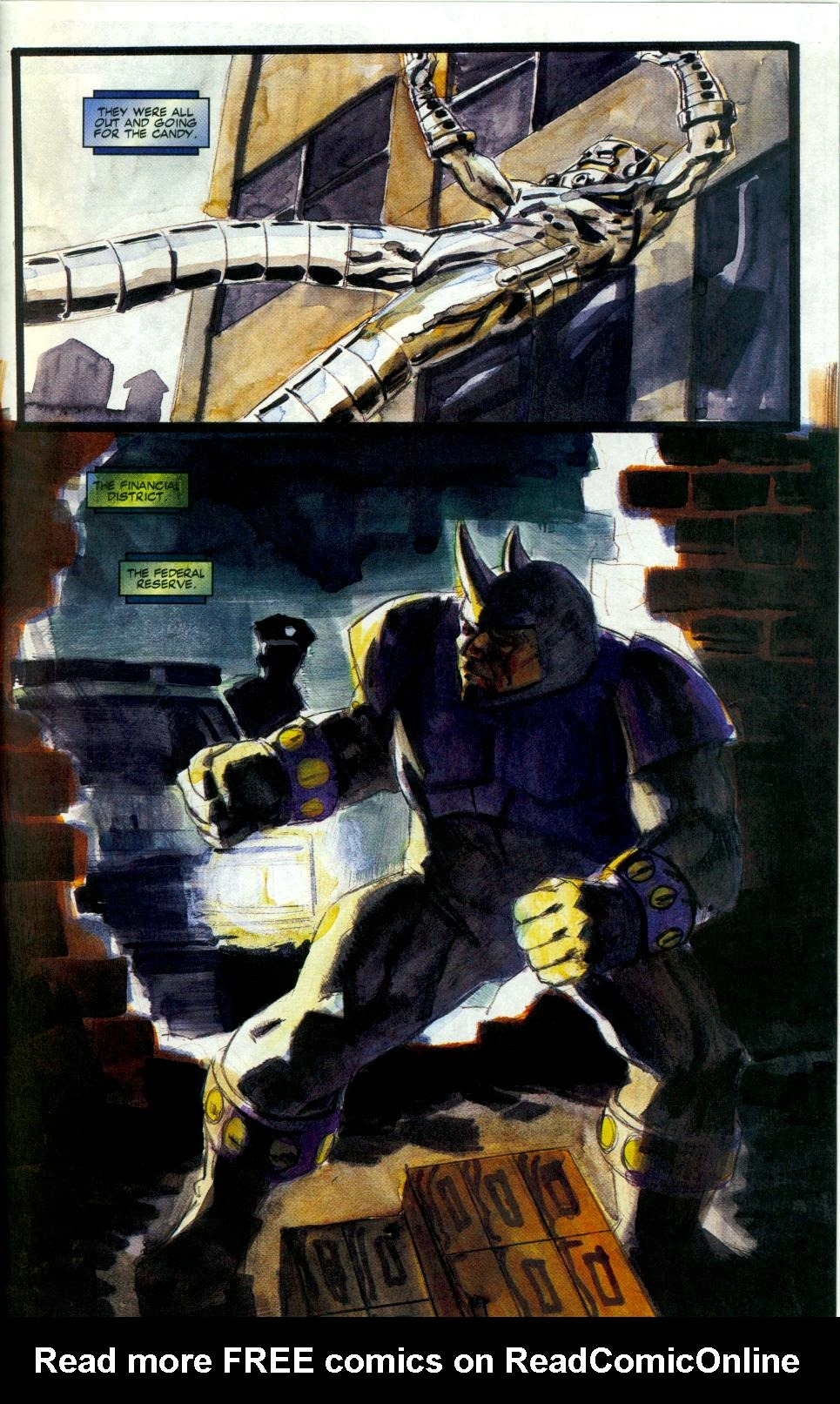Read online Code of Honor comic -  Issue #3 - 30
