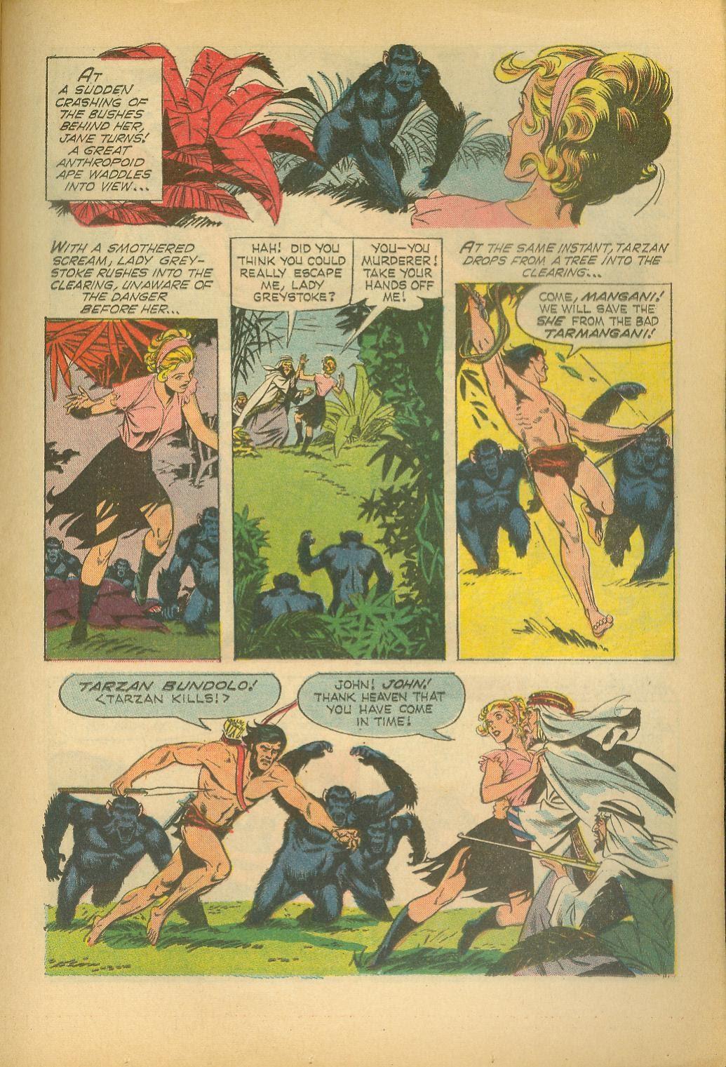 Tarzan (1962) issue 160 - Page 17