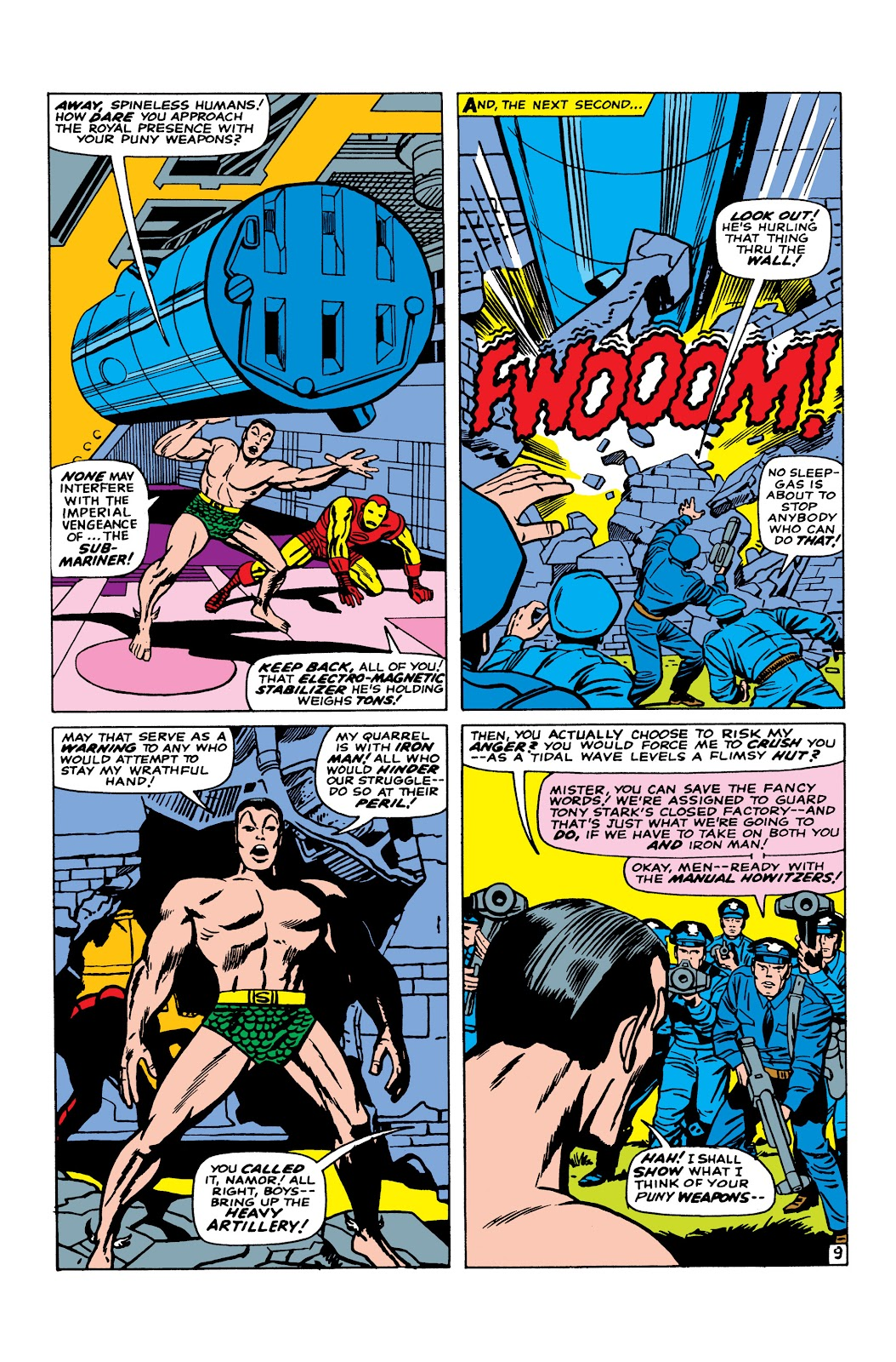 Read online Marvel Masterworks: The Invincible Iron Man comic -  Issue # TPB 3 (Part 5) - 26