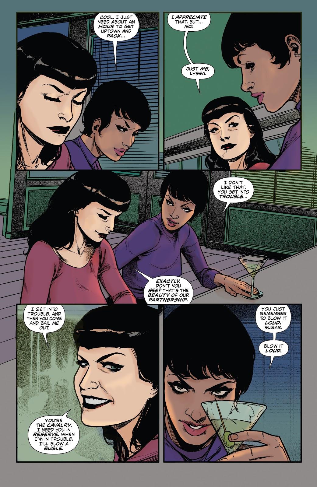 Read online Bettie Page: Unbound comic -  Issue #6 - 17