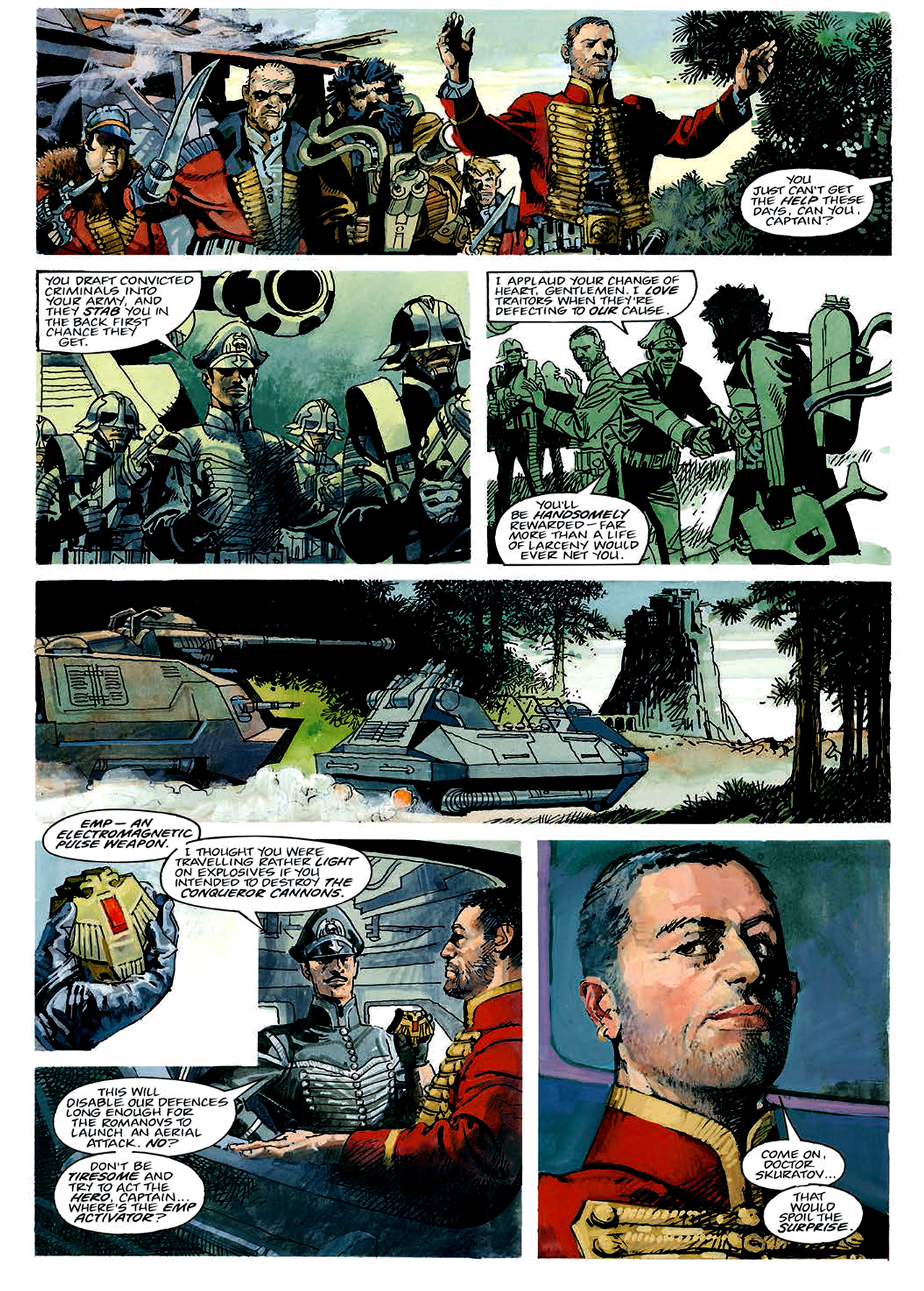 Read online Nikolai Dante comic -  Issue # TPB 4 - 36