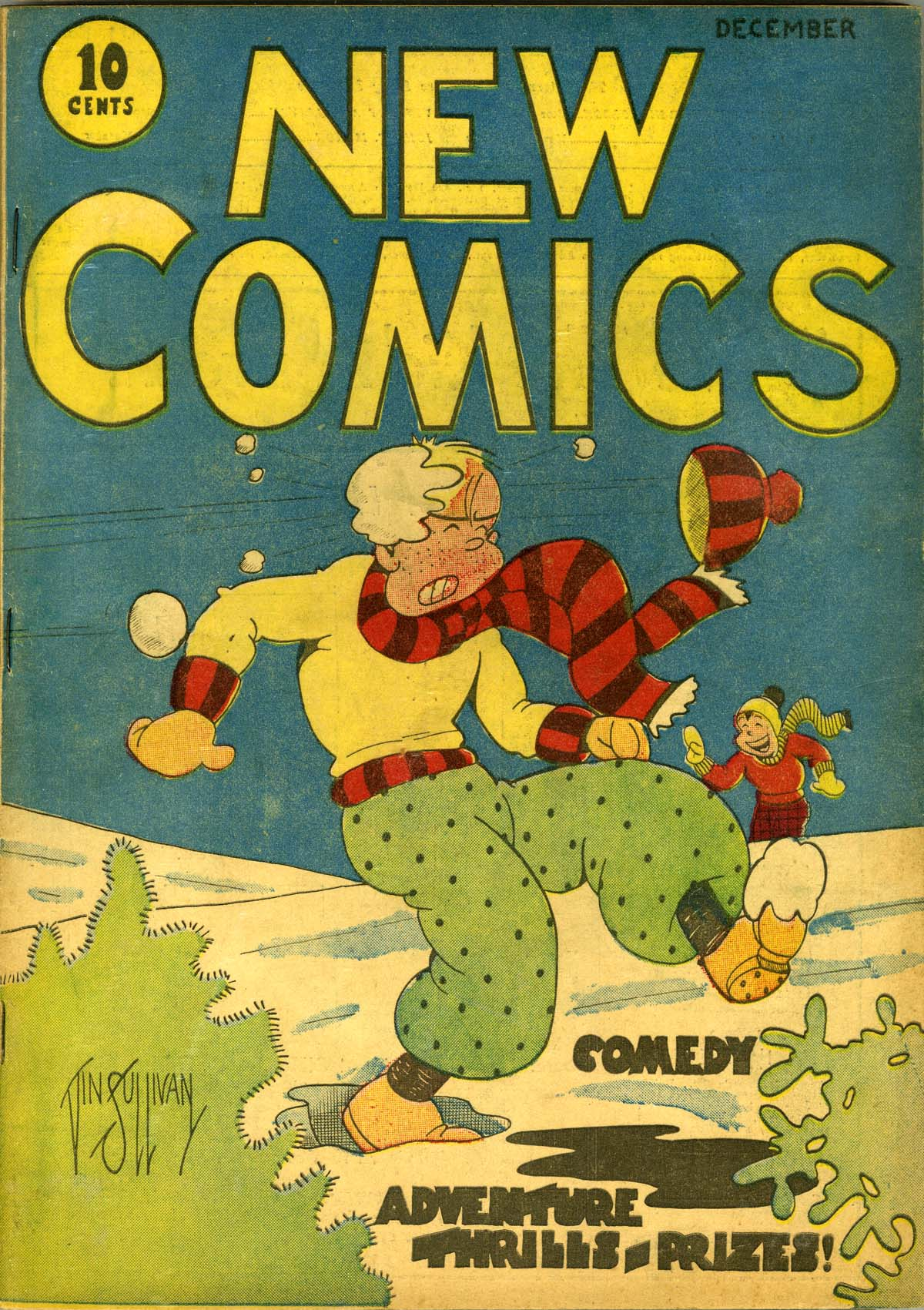 Read online Adventure Comics (1938) comic -  Issue #1 - 1