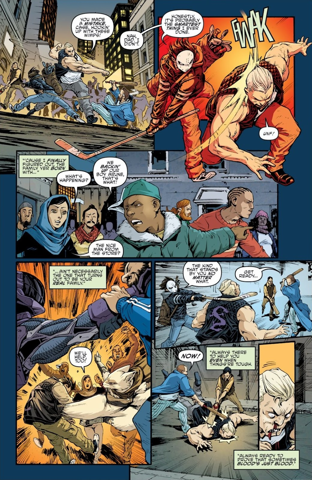 Read online Teenage Mutant Ninja Turtles: The IDW Collection comic -  Issue # TPB 6 (Part 2) - 76