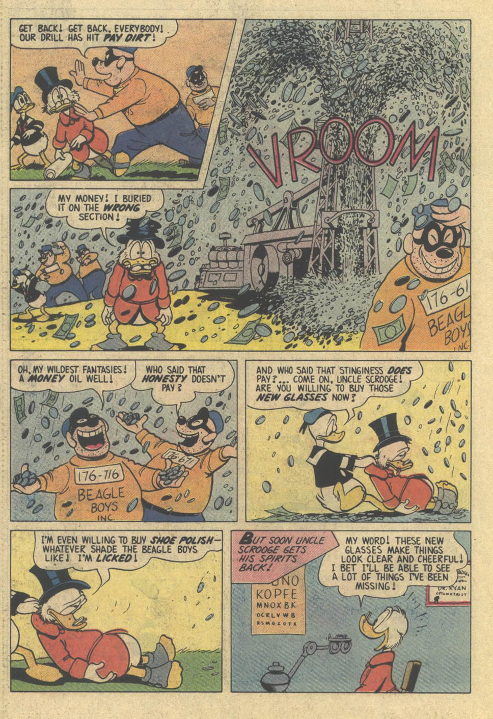 Read online Uncle Scrooge (1953) comic -  Issue #209 - 22