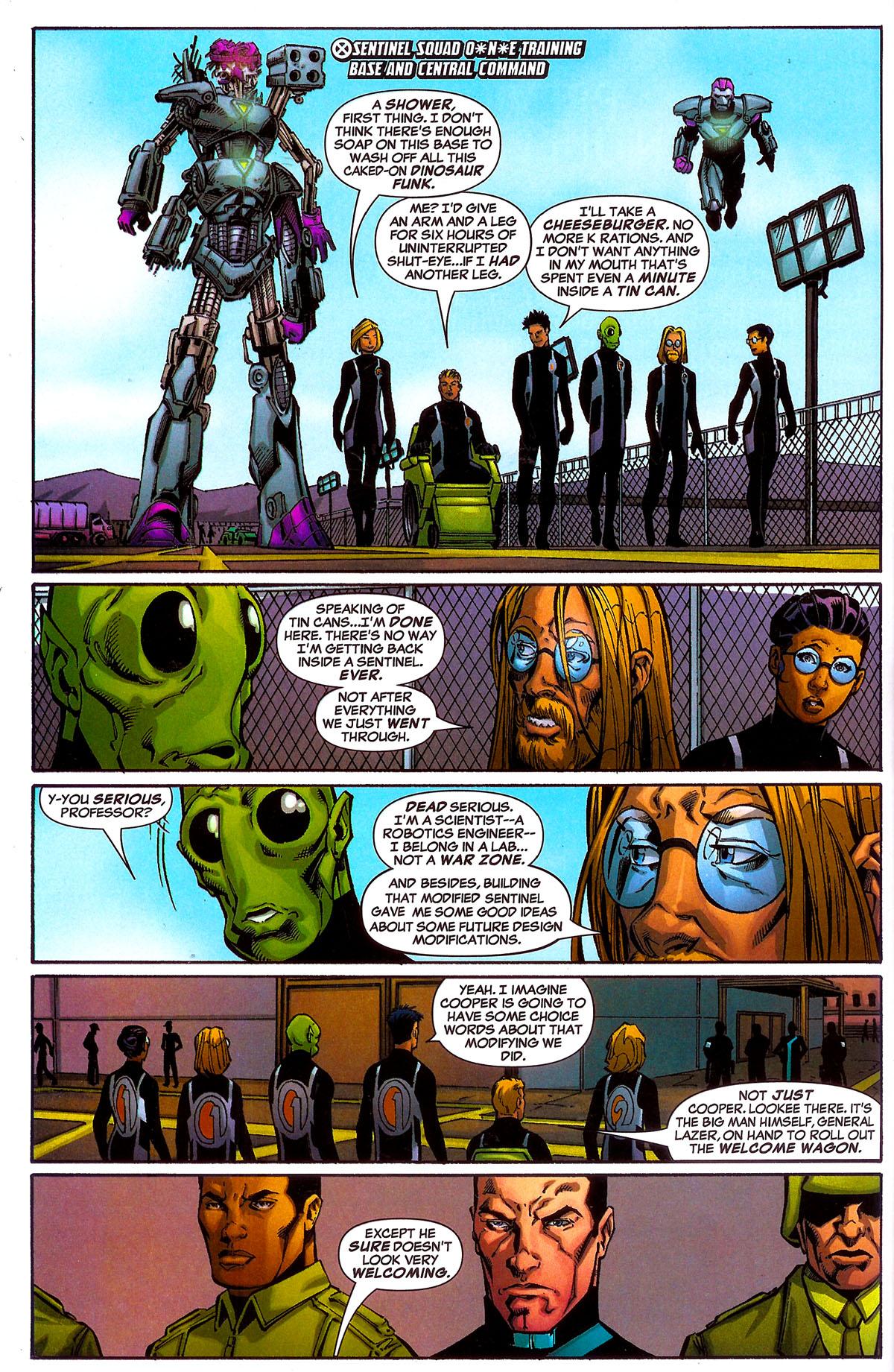 Read online Sentinel Squad O*N*E comic -  Issue #5 - 3